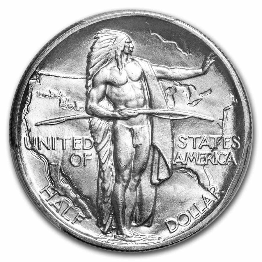 1928 Oregon Trail Commemorative Half Dollar MS-66 PCGS