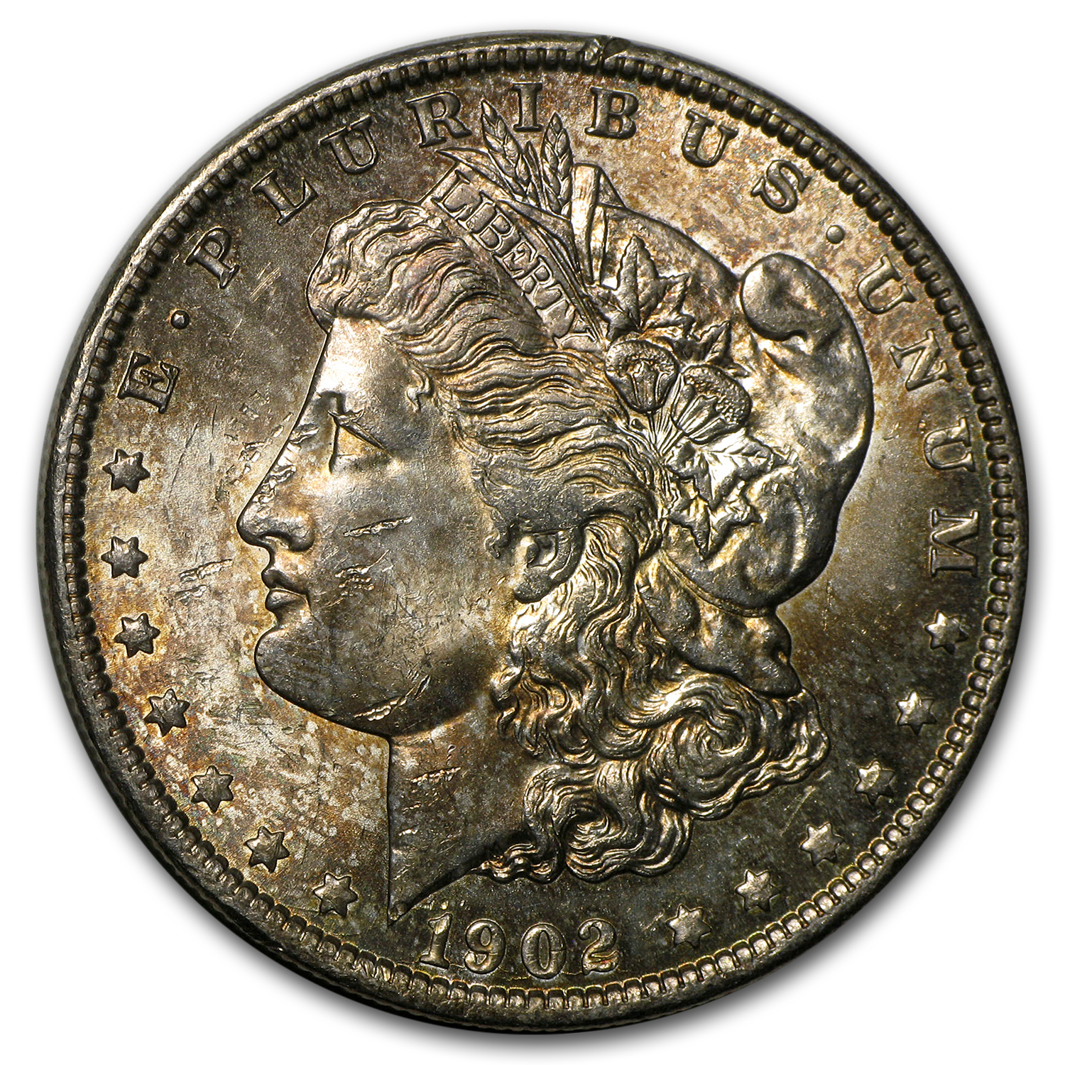 1902-O Morgan Dollar BU (Tidy House)