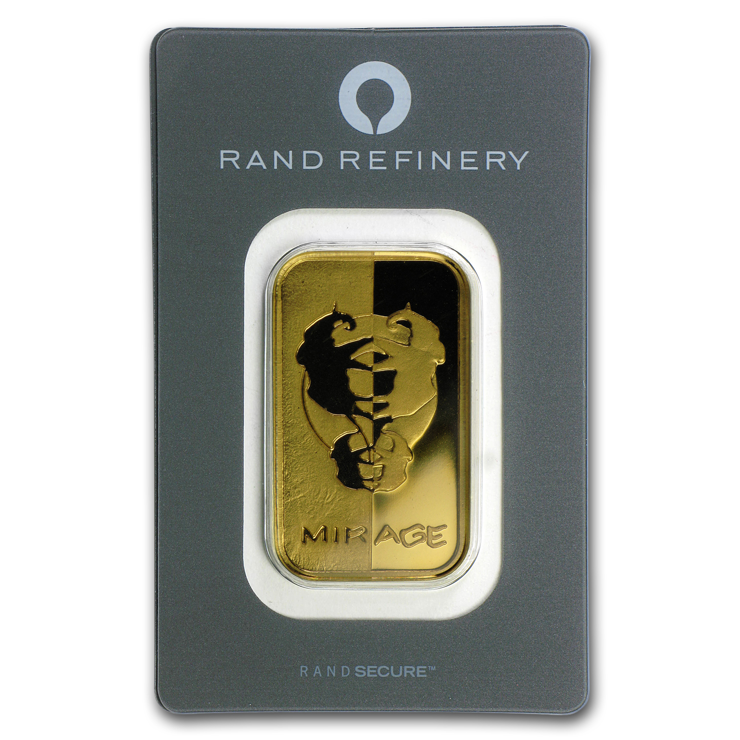 1 oz Gold Bar - Rand Elephant Mirage (In Assay)