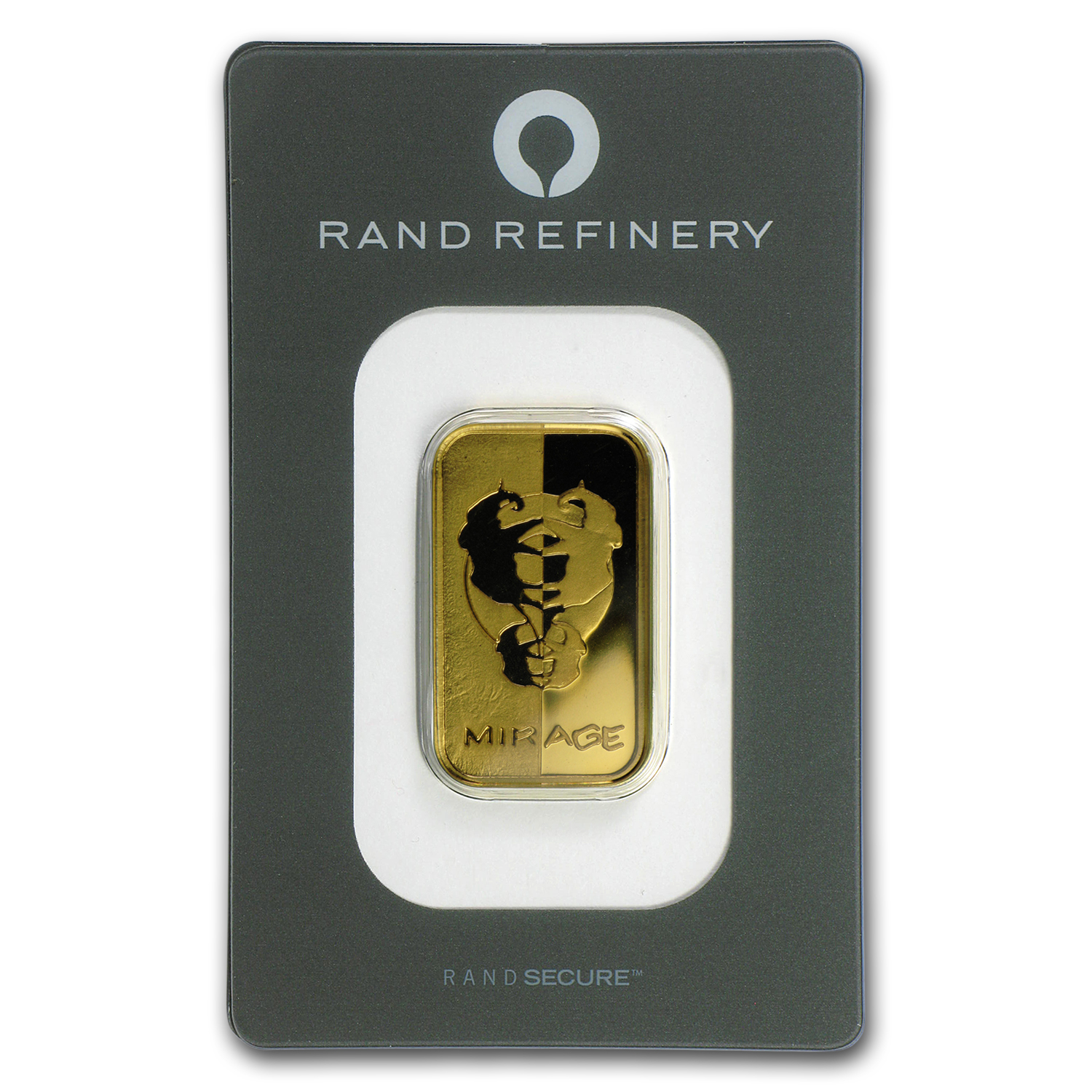 20 gram Gold Bar - Rand Elephant Mirage (In Assay)