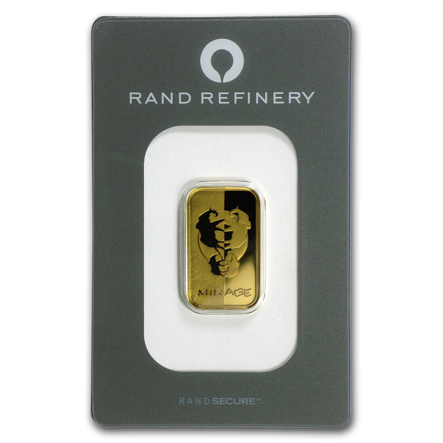10 gram Gold Bar - Rand Elephant Mirage (In Assay)