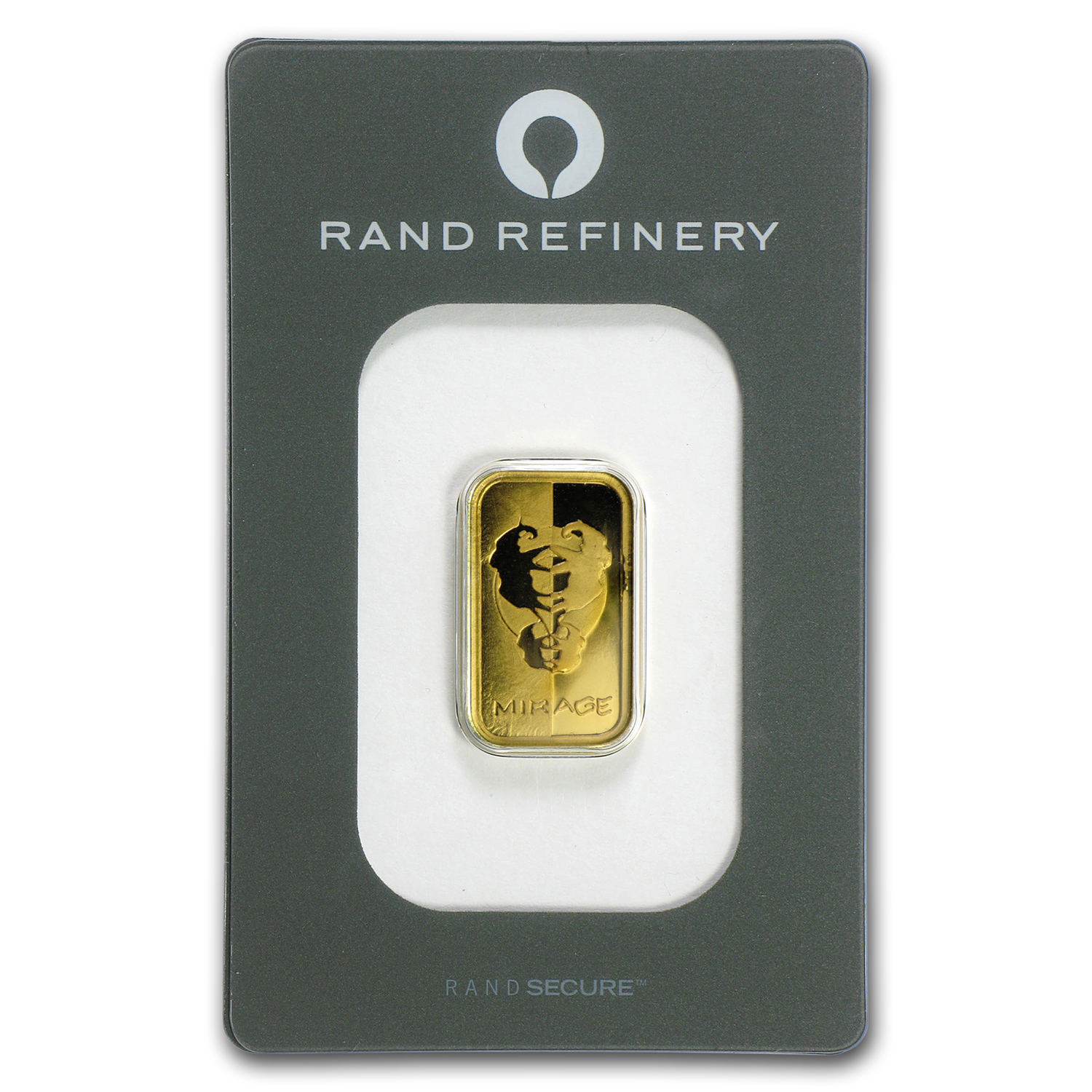5 gram Gold Bar - Rand Elephant Mirage (In Assay)