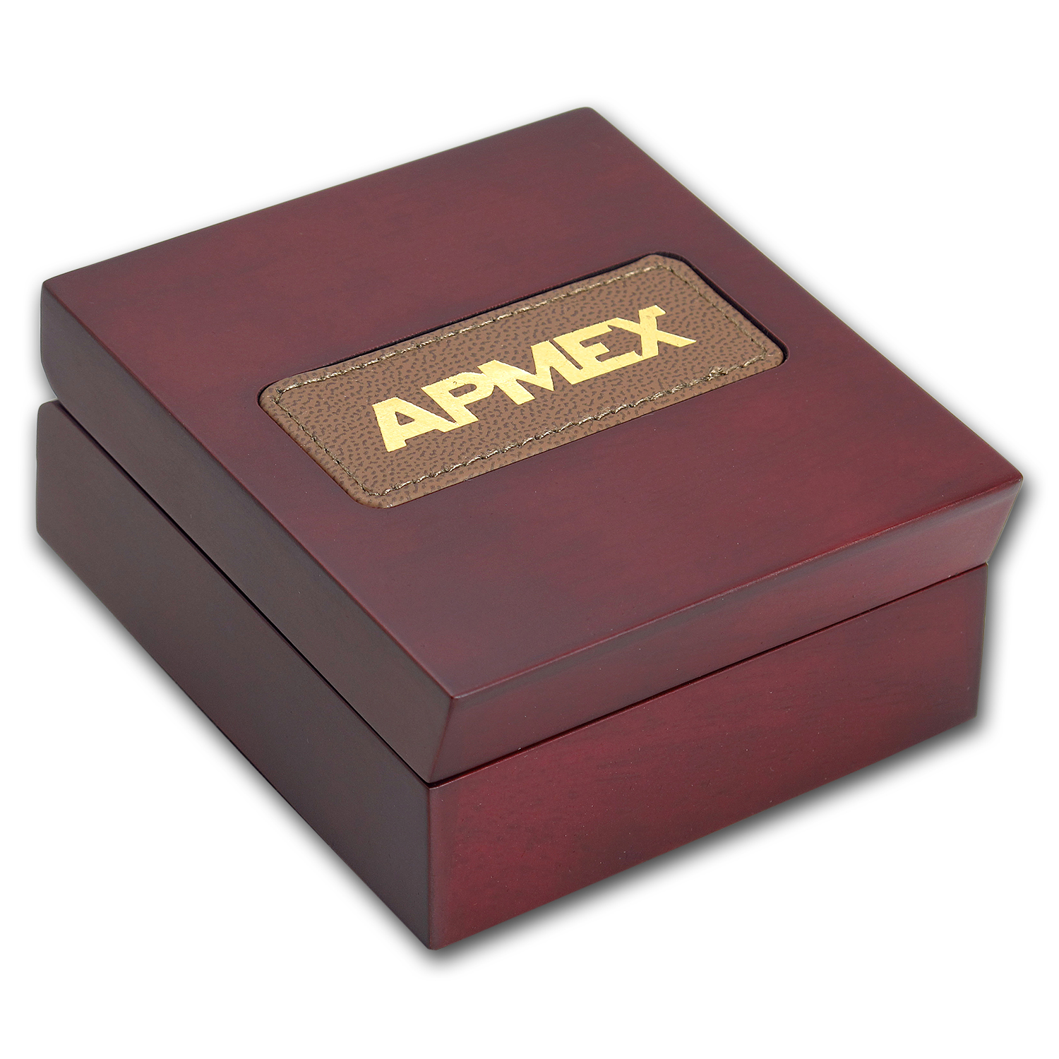 APMEX Wood Gift Box - 1/10 oz Perth Mint Gold Coin Series 1