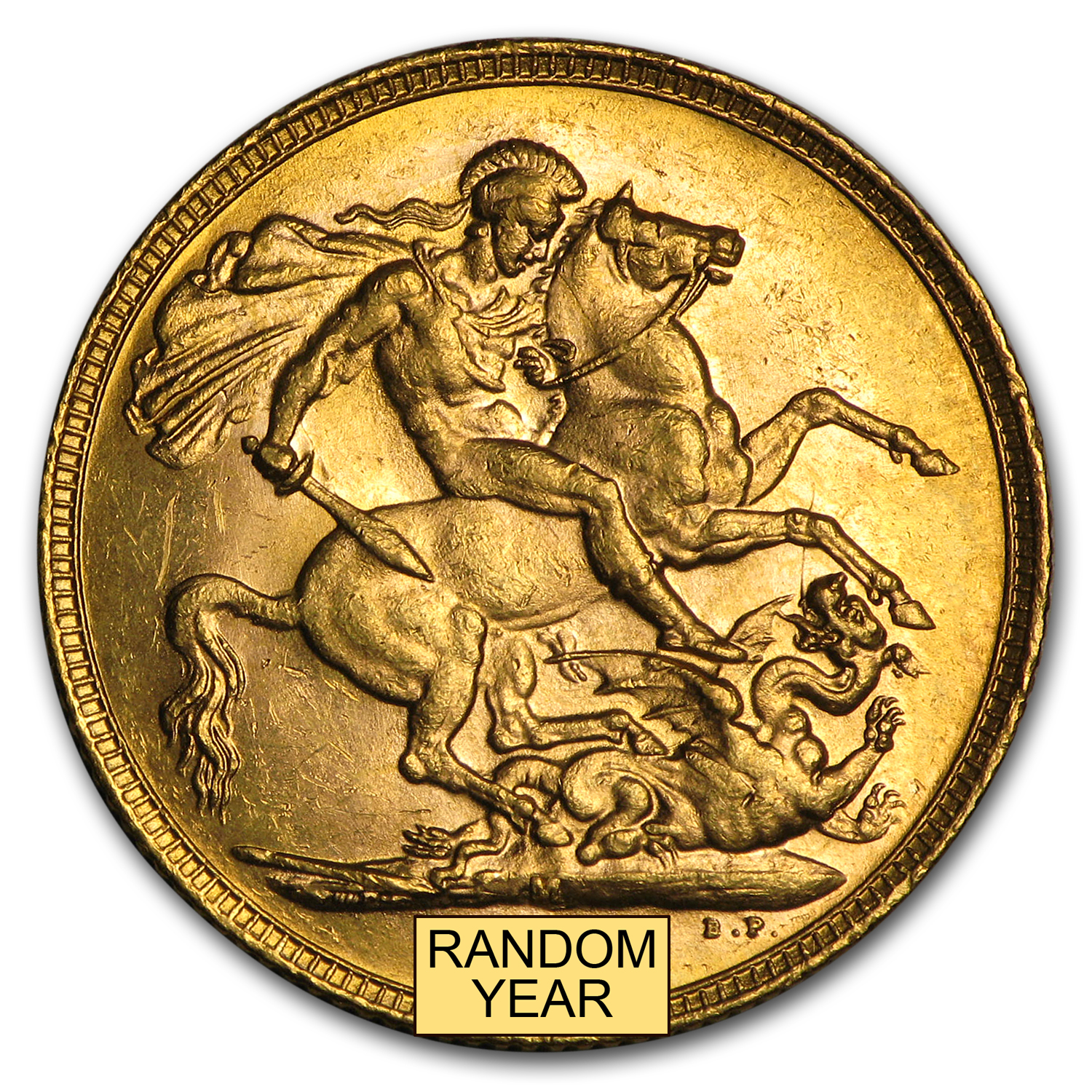 1902-1910-M Australia Gold Sovereign Edward VII Avg Circ