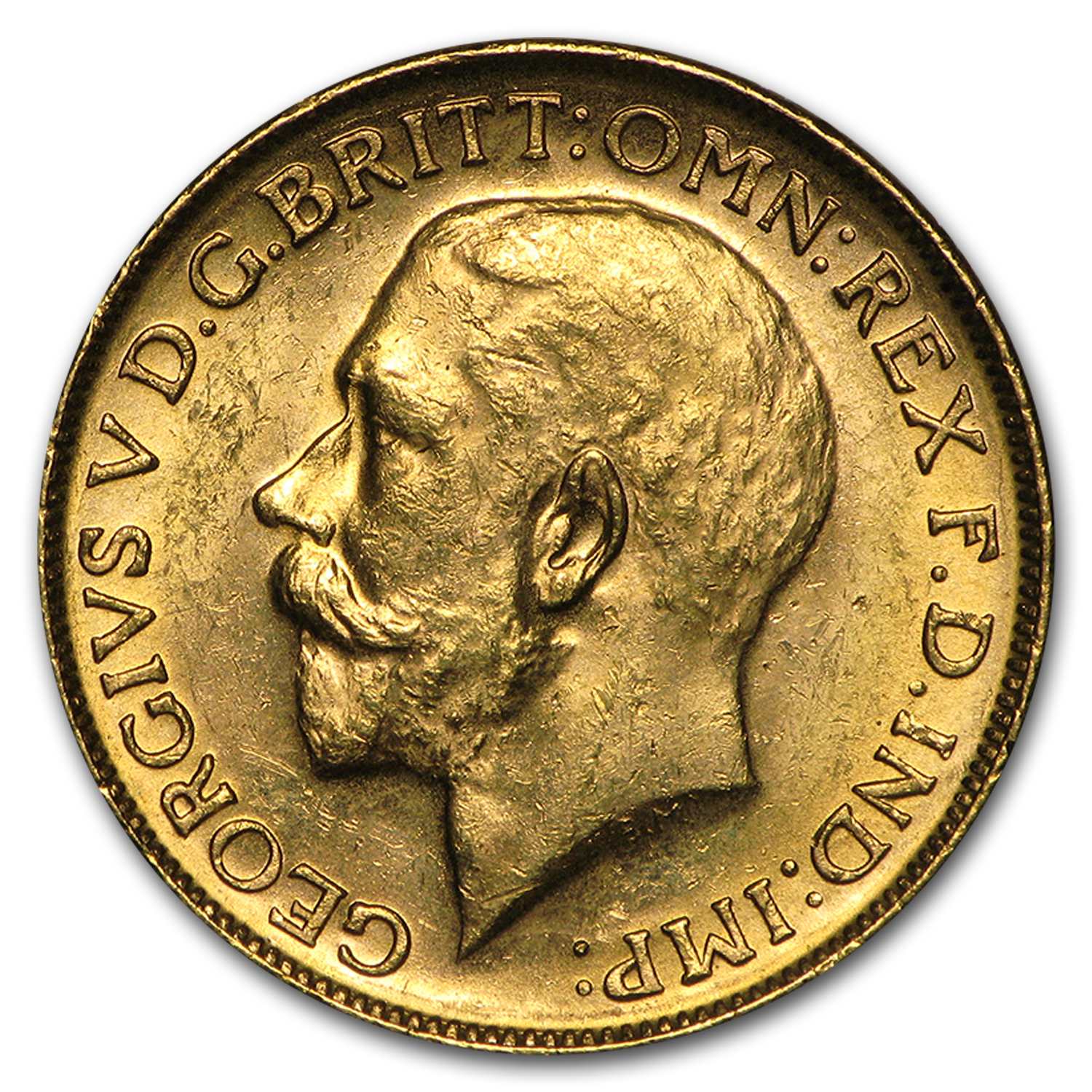 1911-1931-M Australia Gold Sovereign George V AU