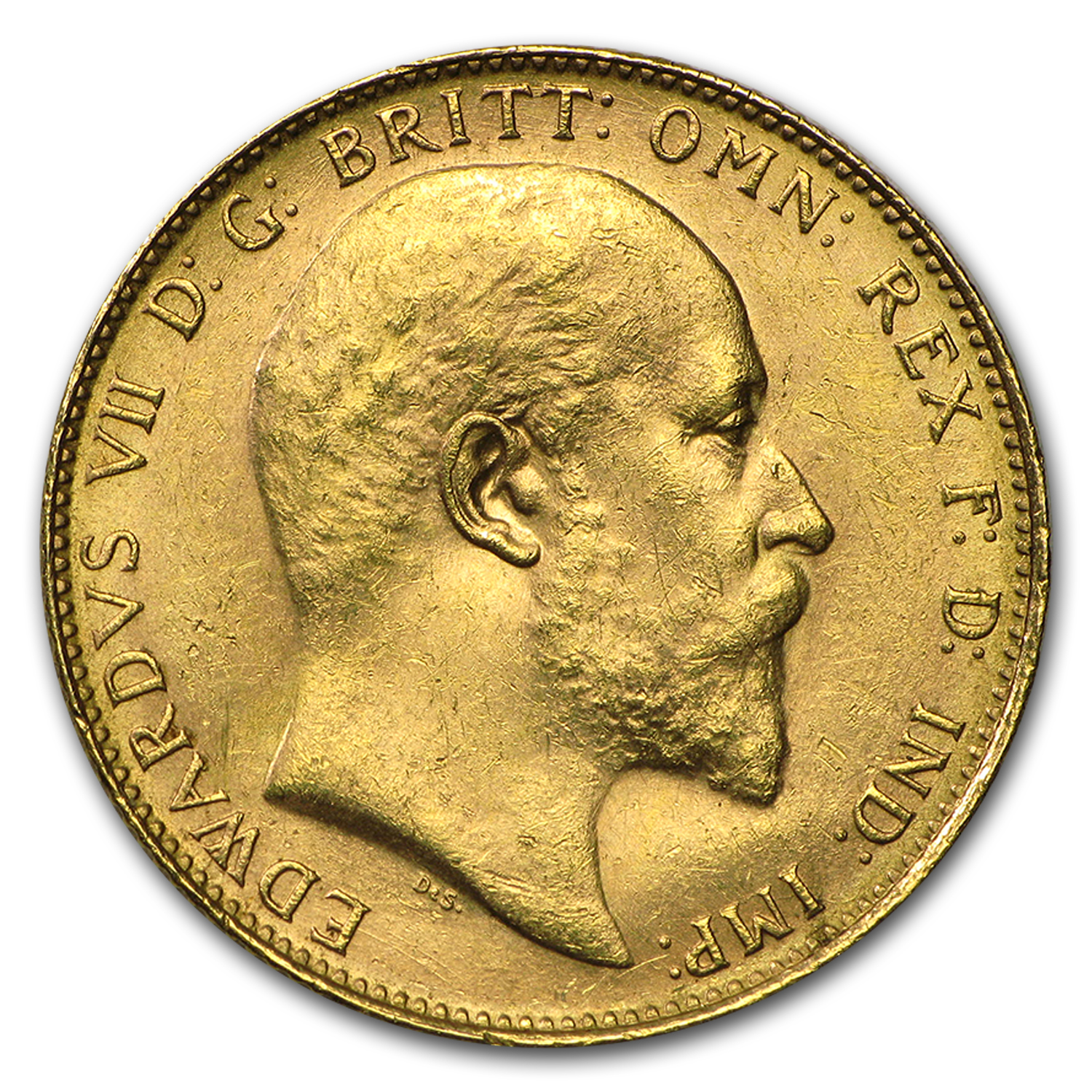 1902-1910-P Australia Gold Sovereign Edward VII AU