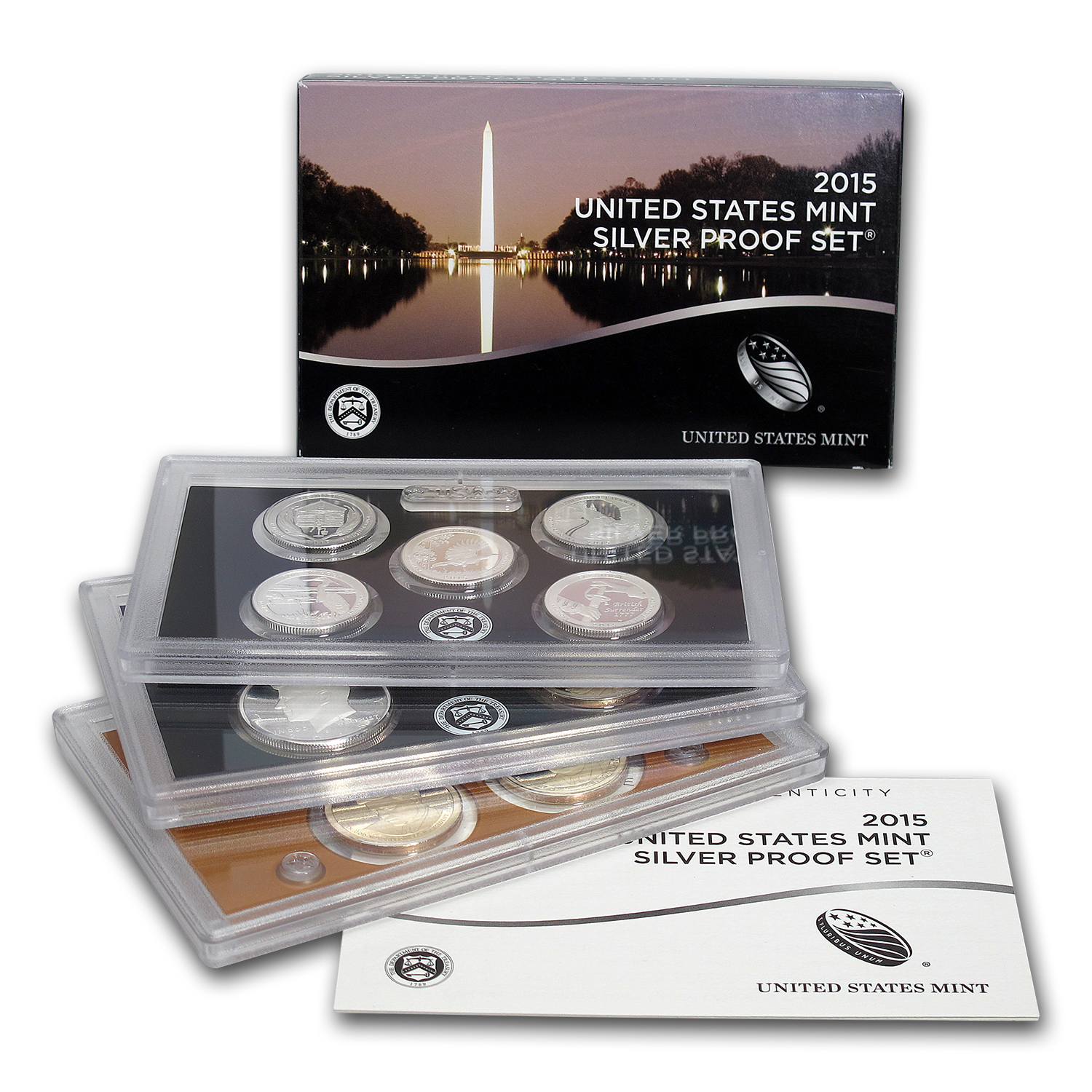 2015 U S Proof Set Silver Value Of Silver