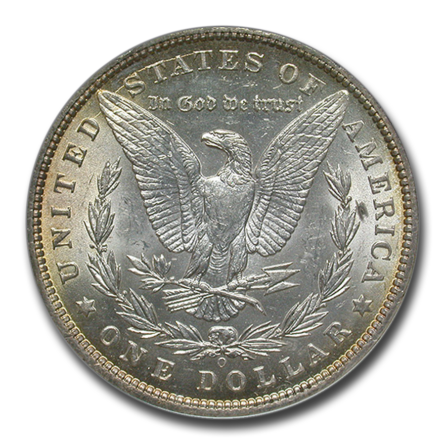 1897-O Morgan Dollar MS-61 NGC