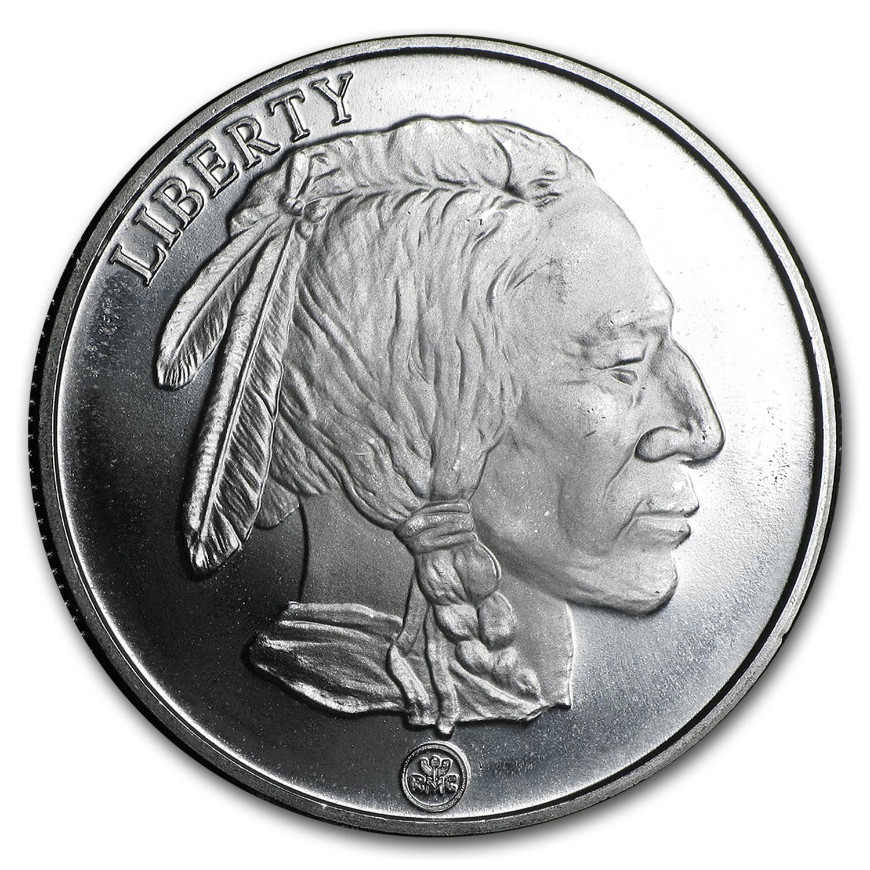 Buffalo Silver Round Rmc 1 Oz Bullion Buy 1 Oz Silver