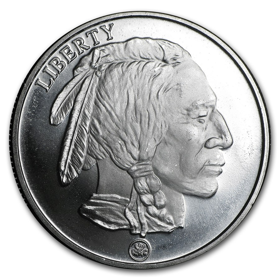Buffalo Silver Round Rmc 1 Oz Bullion Buy 1 Oz Silver