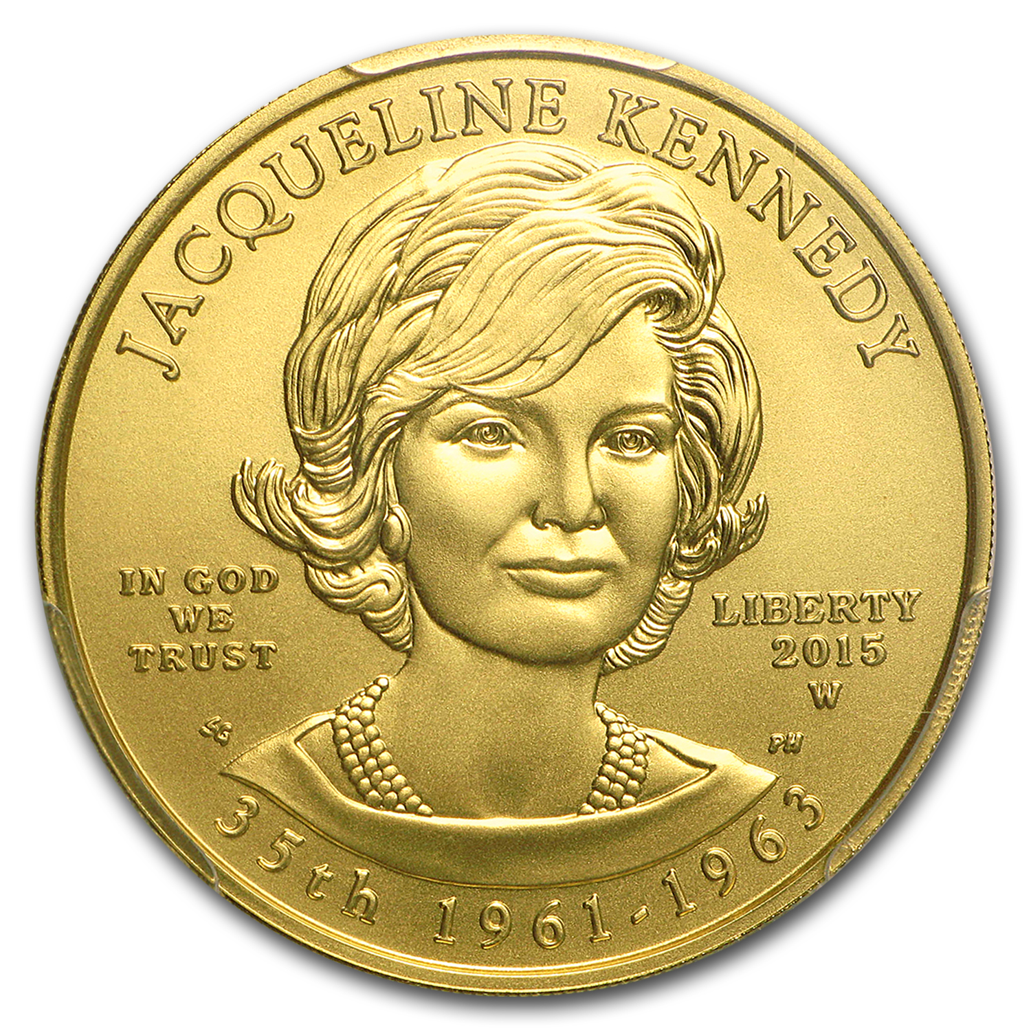 2015-W 1/2 oz Gold Jacqueline Kennedy MS-70 PCGS (10-10)