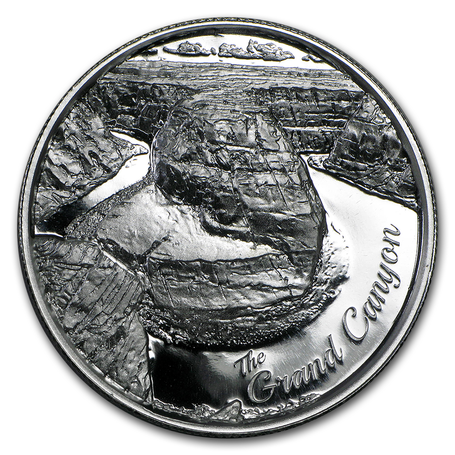 2 oz Silver Round - Grand Canyon