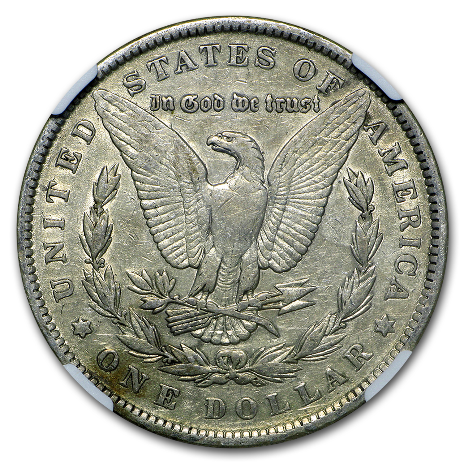 1891 Morgan Dollar VF-35 NGC (VAM-2A, Moustache, Top-100)