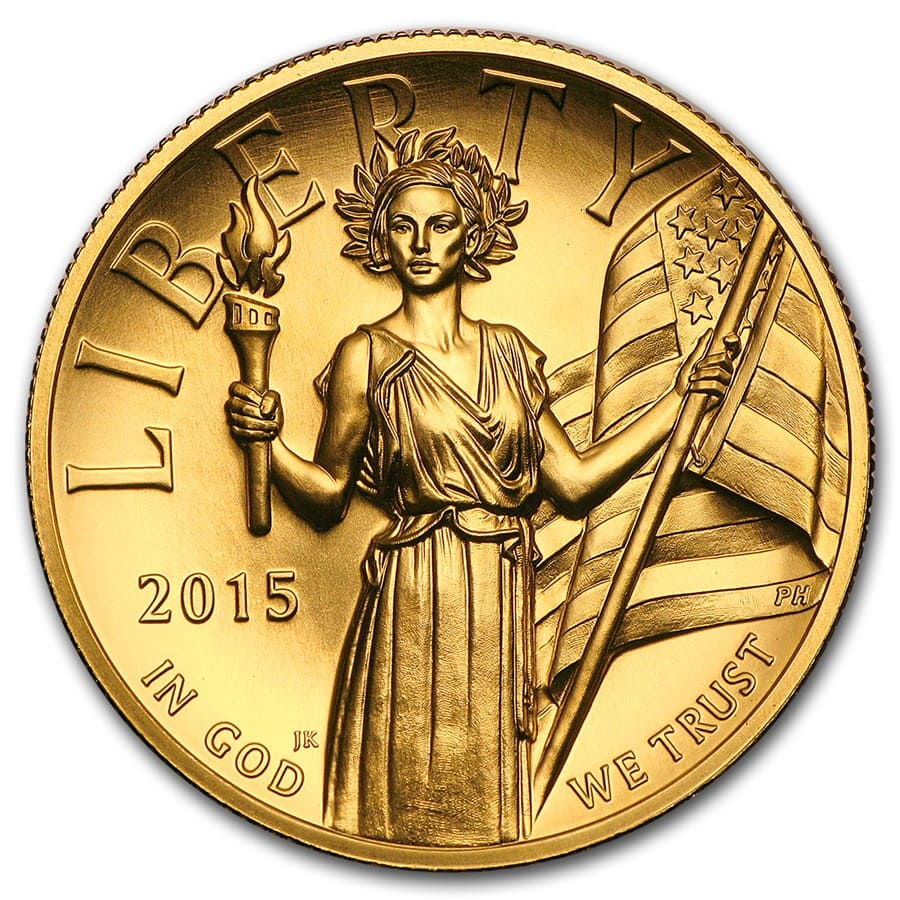 2015 High Relief American Liberty Gold (w/Box and COA)