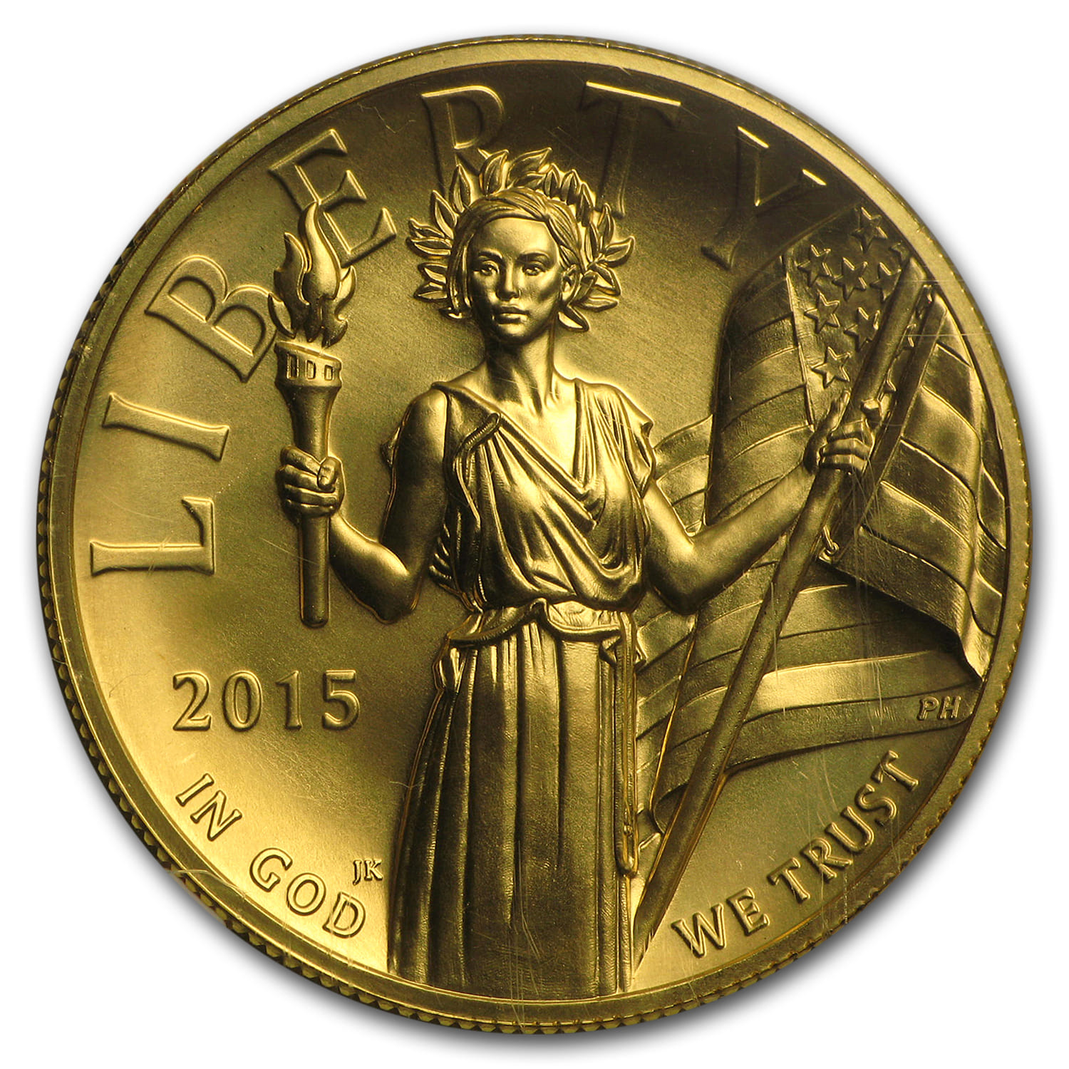 2015 American Liberty High Relief Gold MS-70 NGC (Early Releases)
