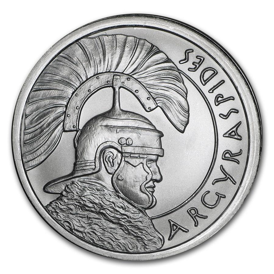 2015 2 Oz Silver Round Jesus Shekel Silver Shield