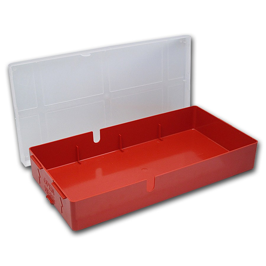 100 Count Valcambi Suisse Storage Box For Tep Packaging