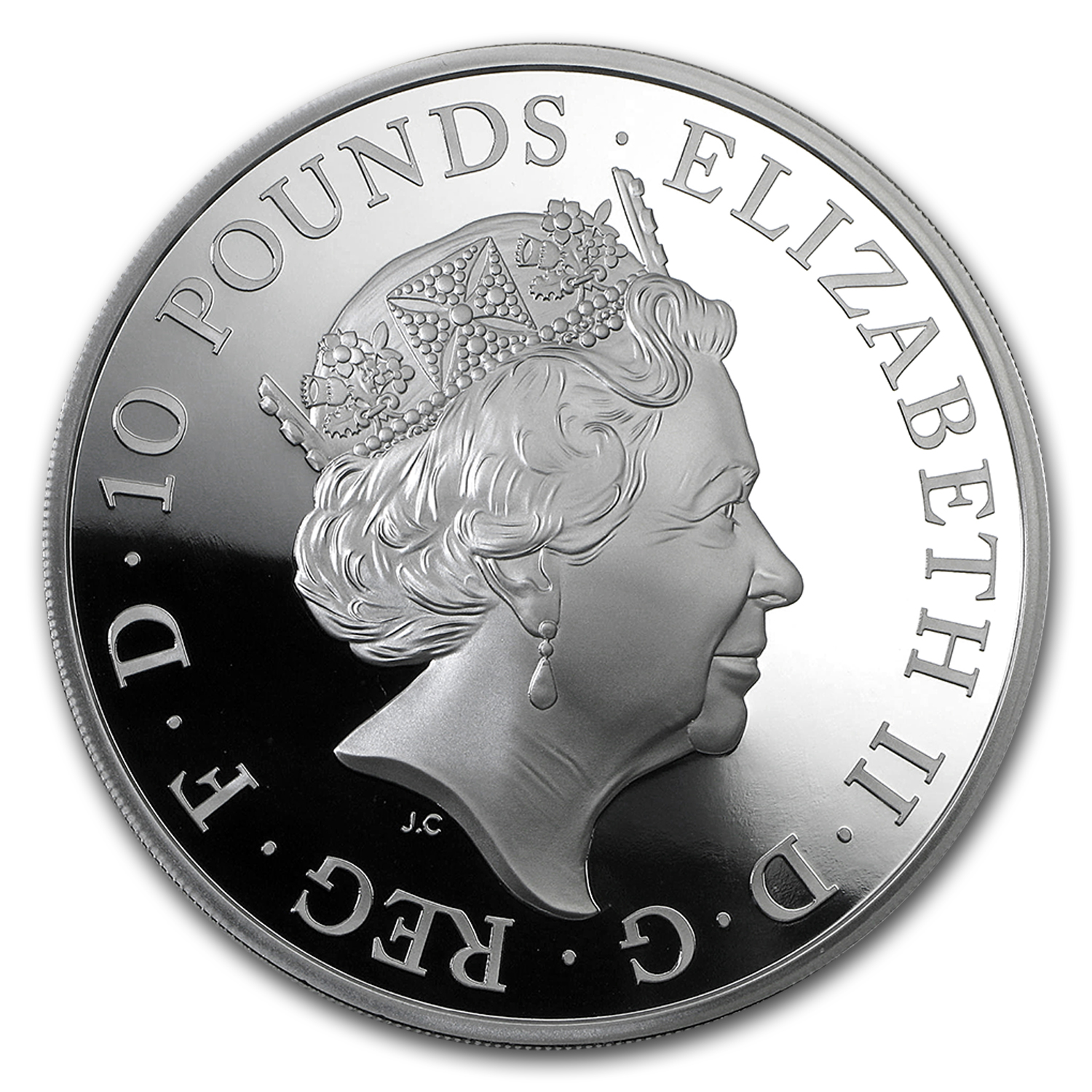 2015 Great Britain 5 oz Proof Silver Britannia
