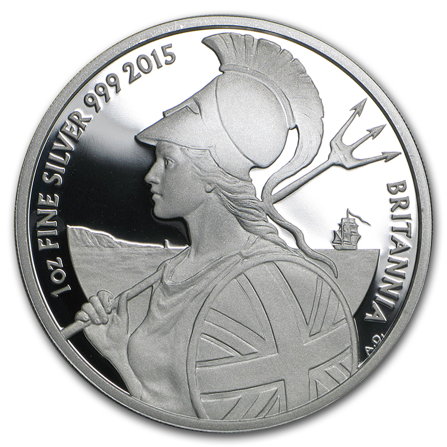 2015 Great Britain 1 oz Proof Silver Britannia