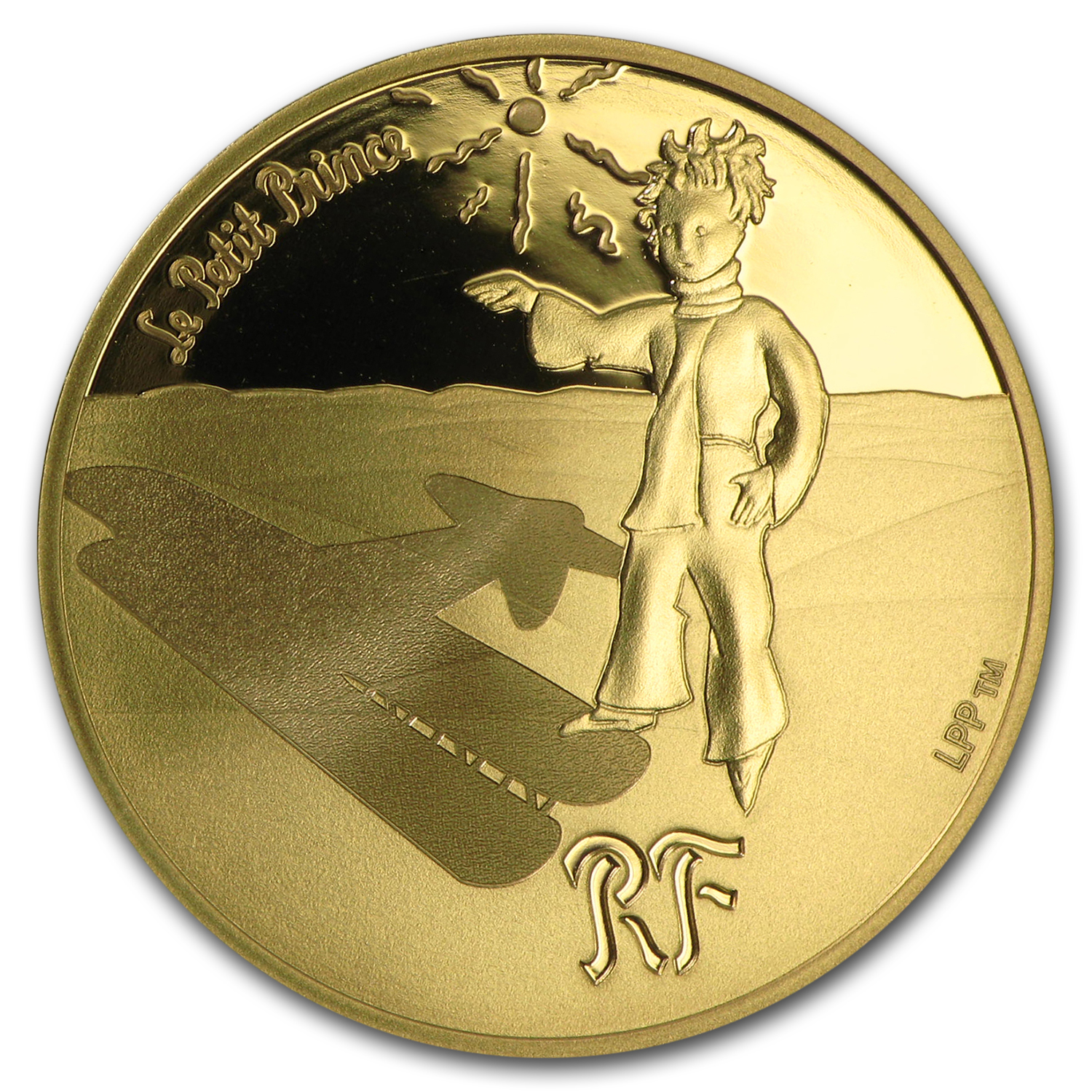 2015 France 1/4 oz Proof Gold €50 The Little Prince (Guide)