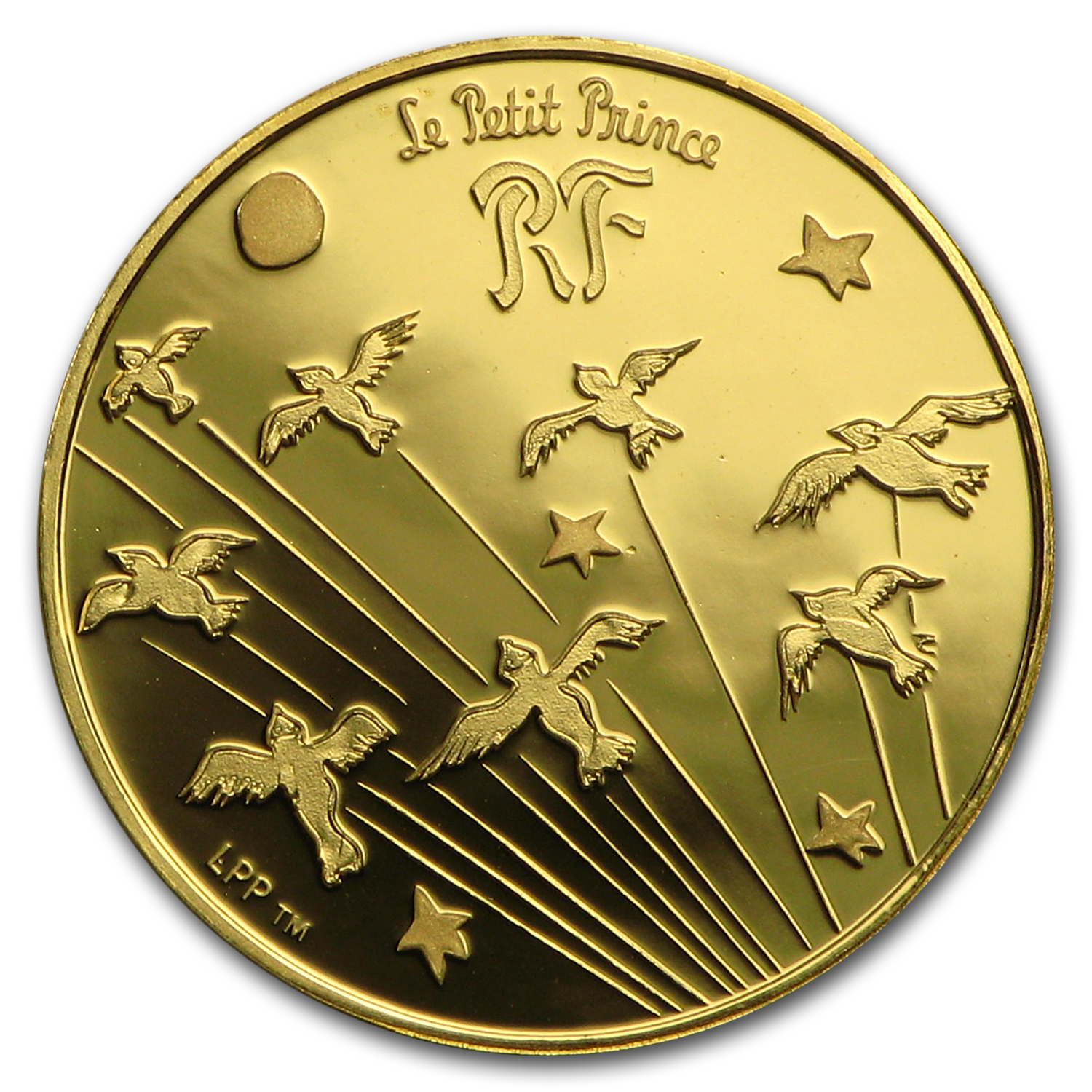 2015 France 1/25 oz Proof Gold €5 The Little Prince