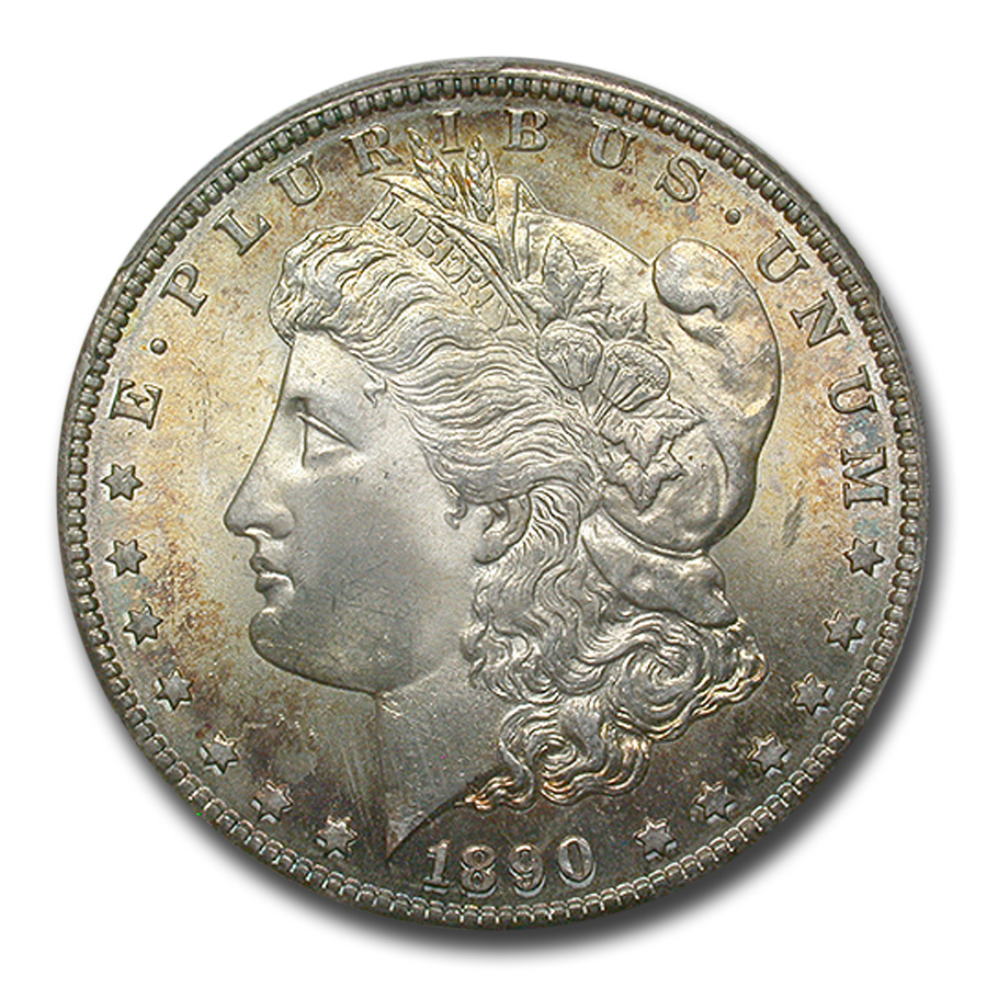 1890-S Morgan Dollar MS-66 PCGS