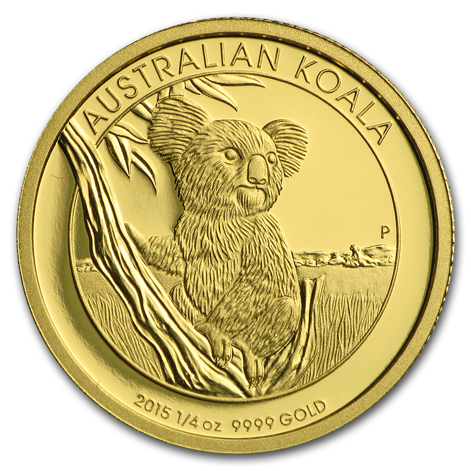2015 Australia 1/4 oz Gold Koala Proof