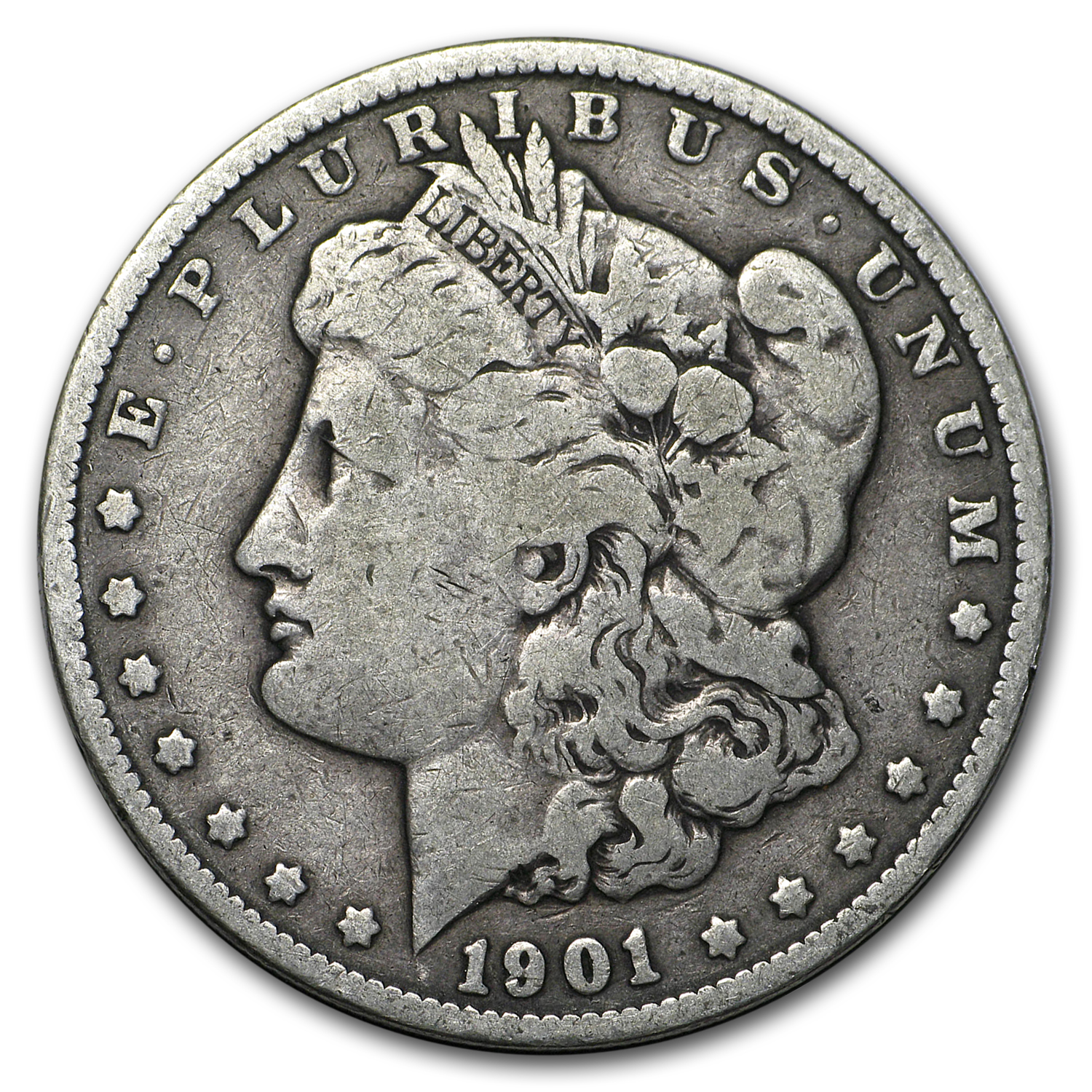1901 Morgan Dollar VG