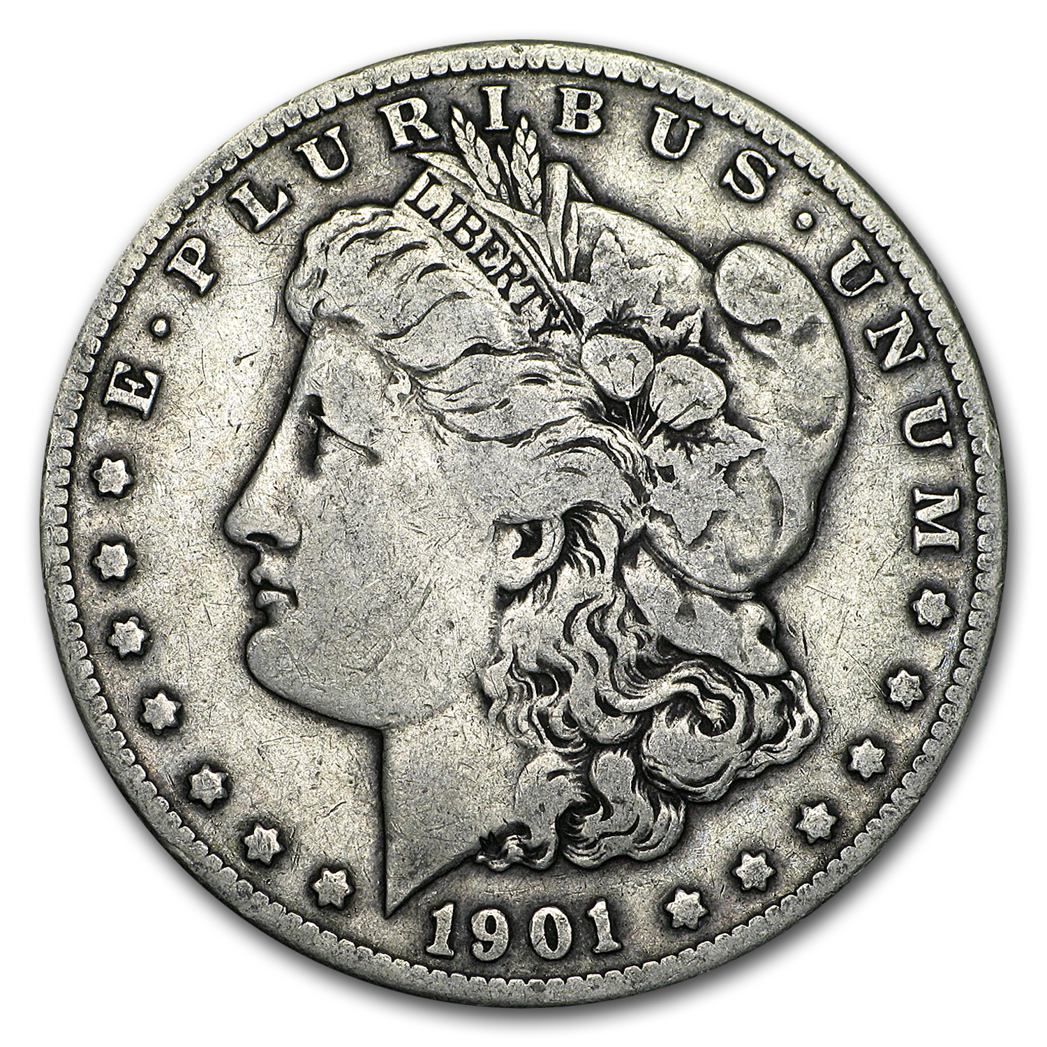 1901-S Morgan Dollar Fine