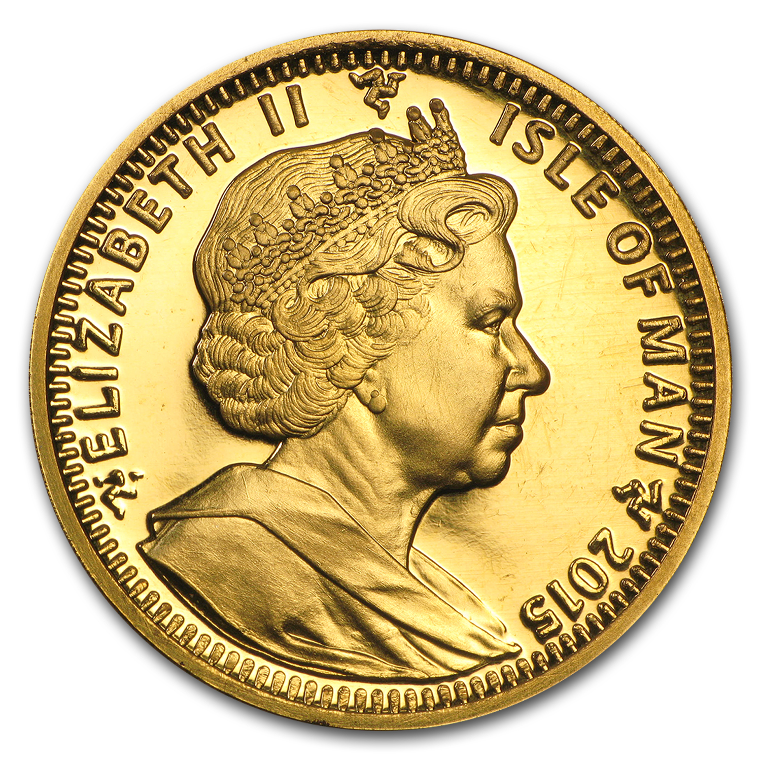 2015 Isle of Man 1 oz Gold Noble BU