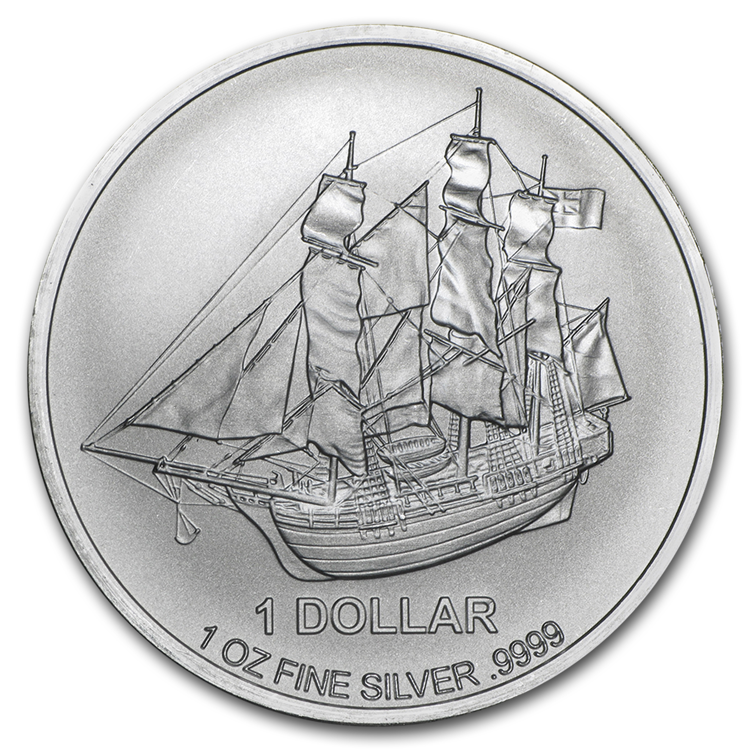 2015 Cook Islands 1 oz Silver Bounty Coin