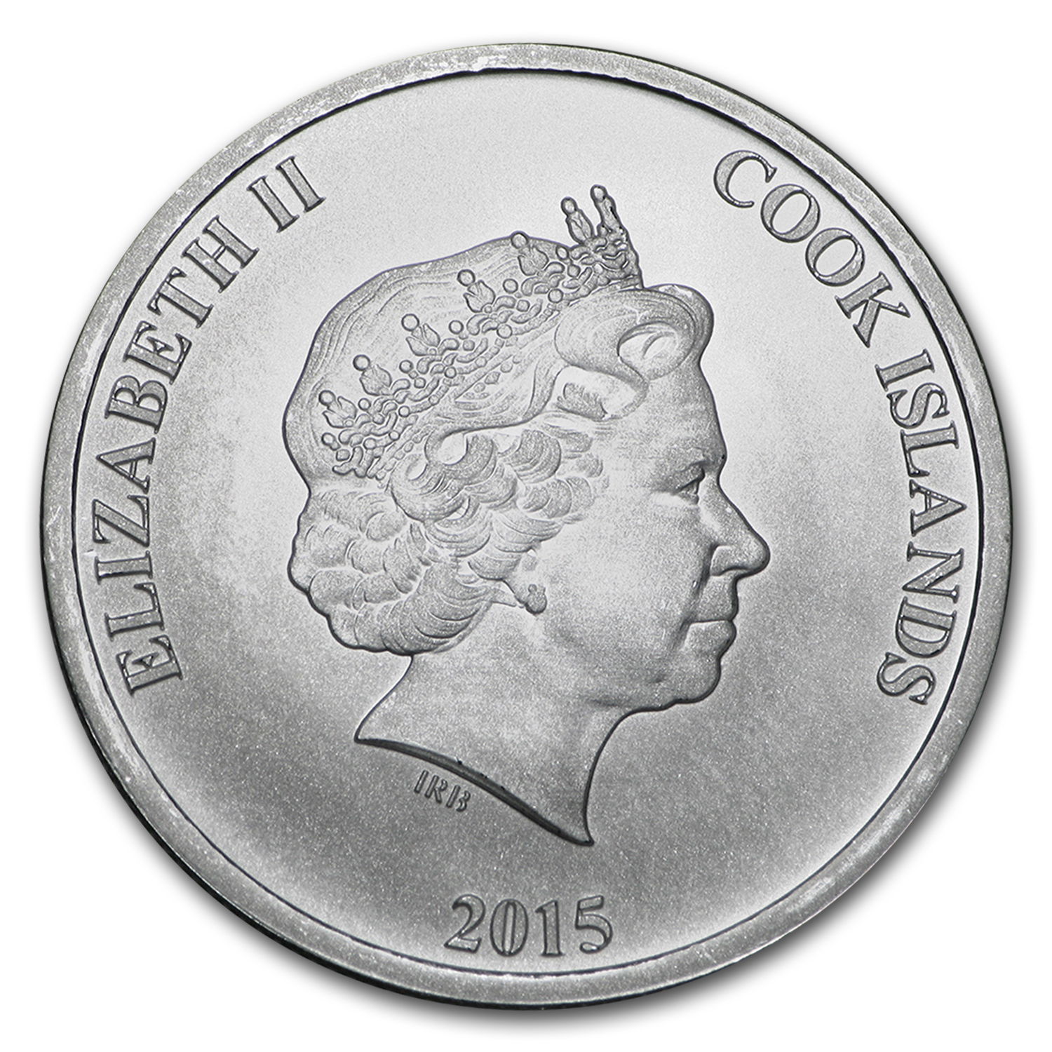 2015 Cook Islands 1/4 oz Silver Bounty Coin