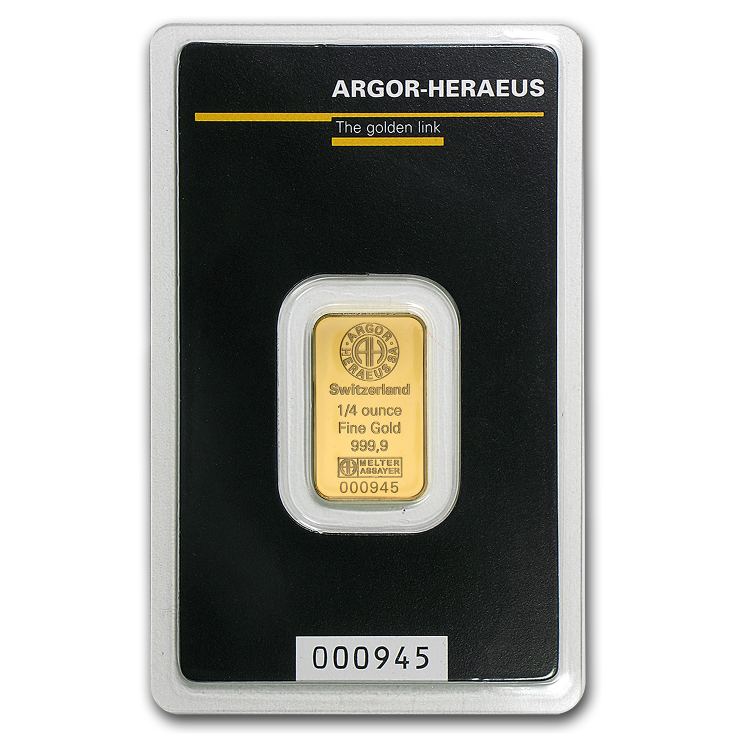 1 4 Oz Gold Bar Argor Heraeus All Other Brands Gold