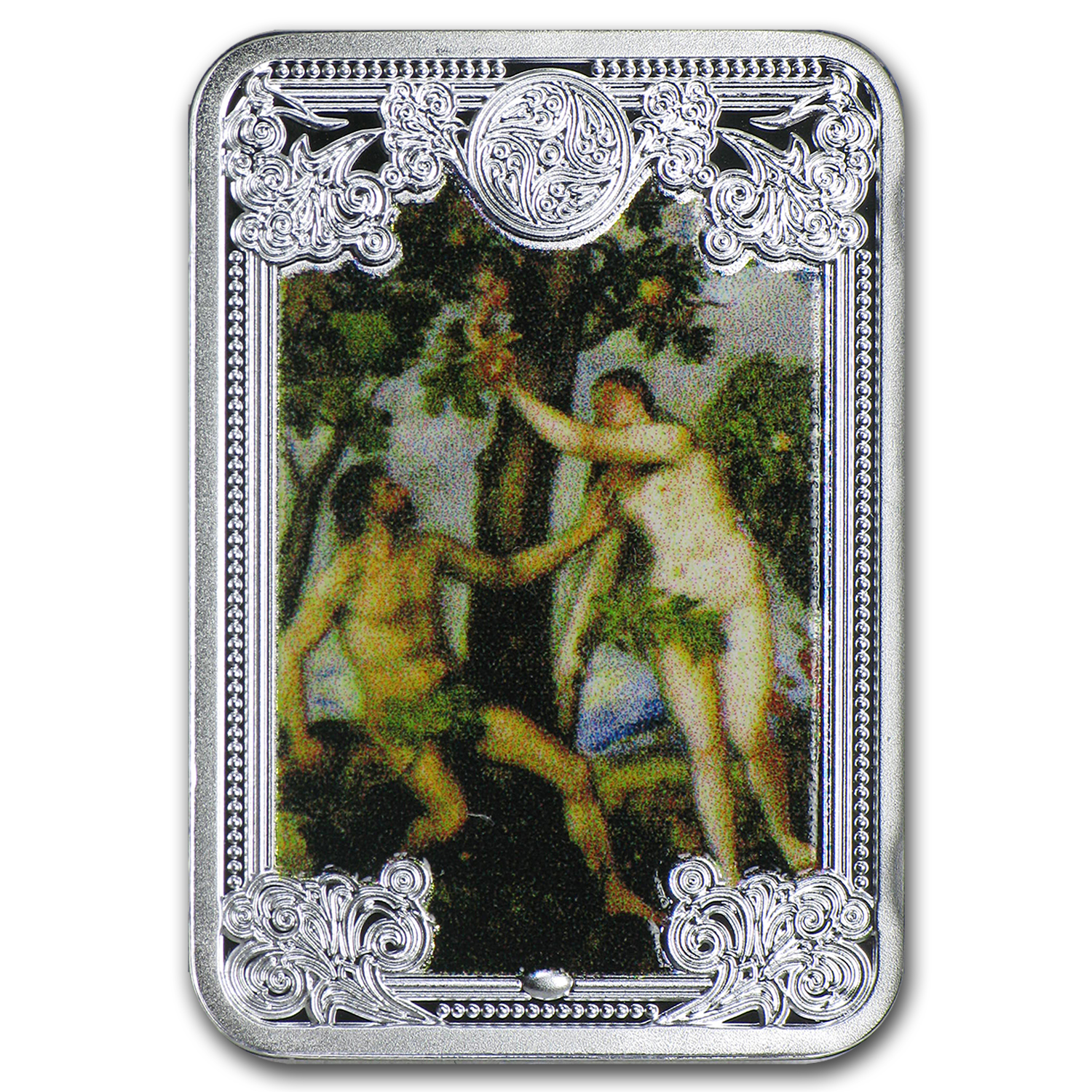 2015 Niue Silver Bible Stories The Fall of Man Proof