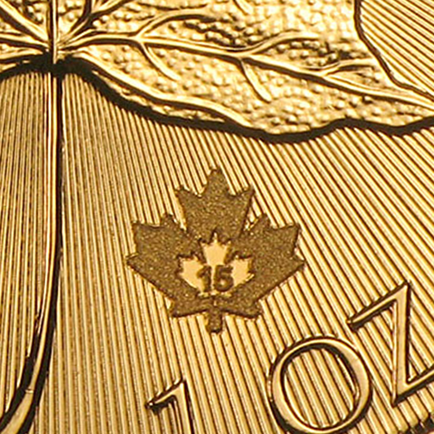 2015 Canada 1 oz Gold Canadian Maple Leaf (In Assay)