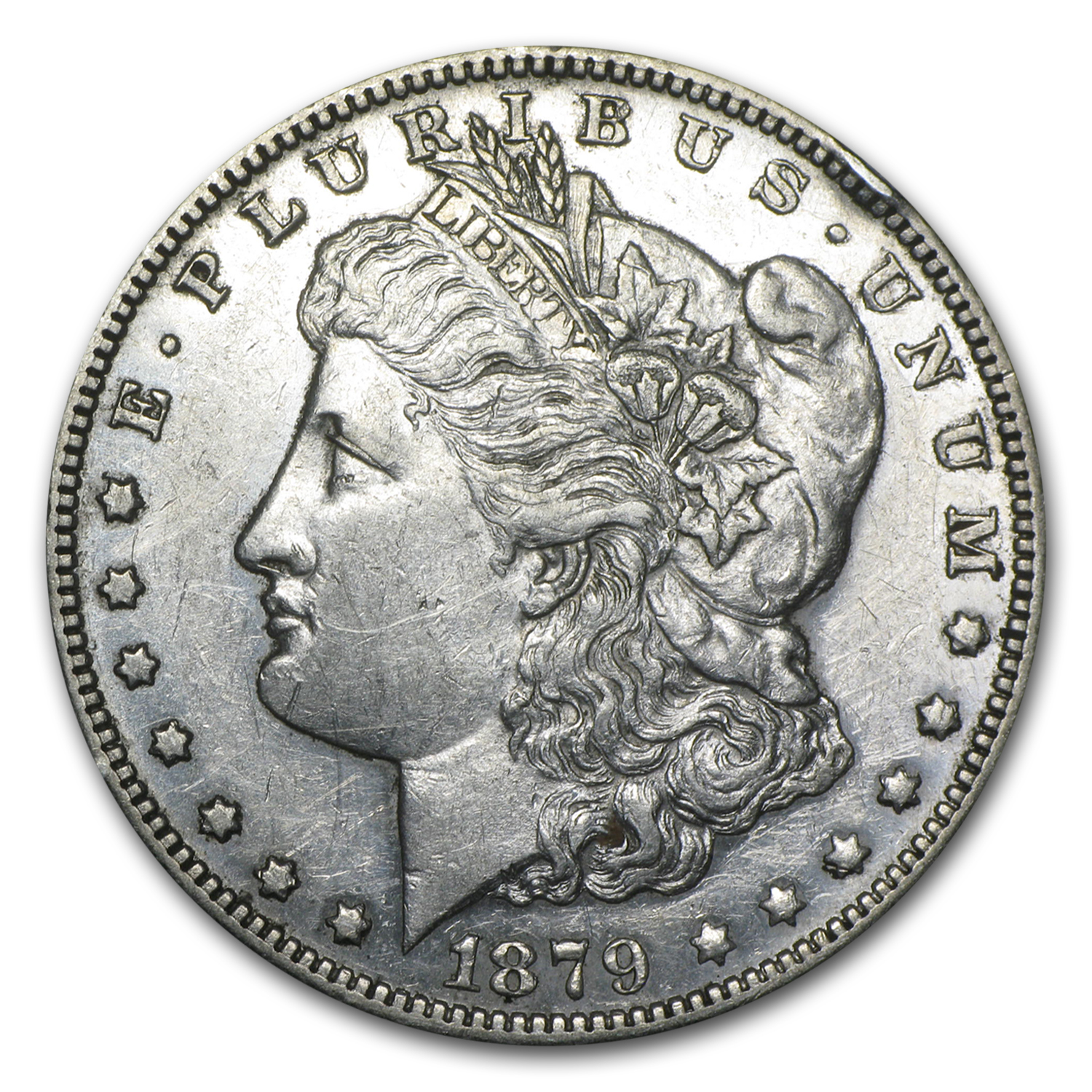 1879-S Morgan Dollar - Reverse of 1878 - Extra Fine