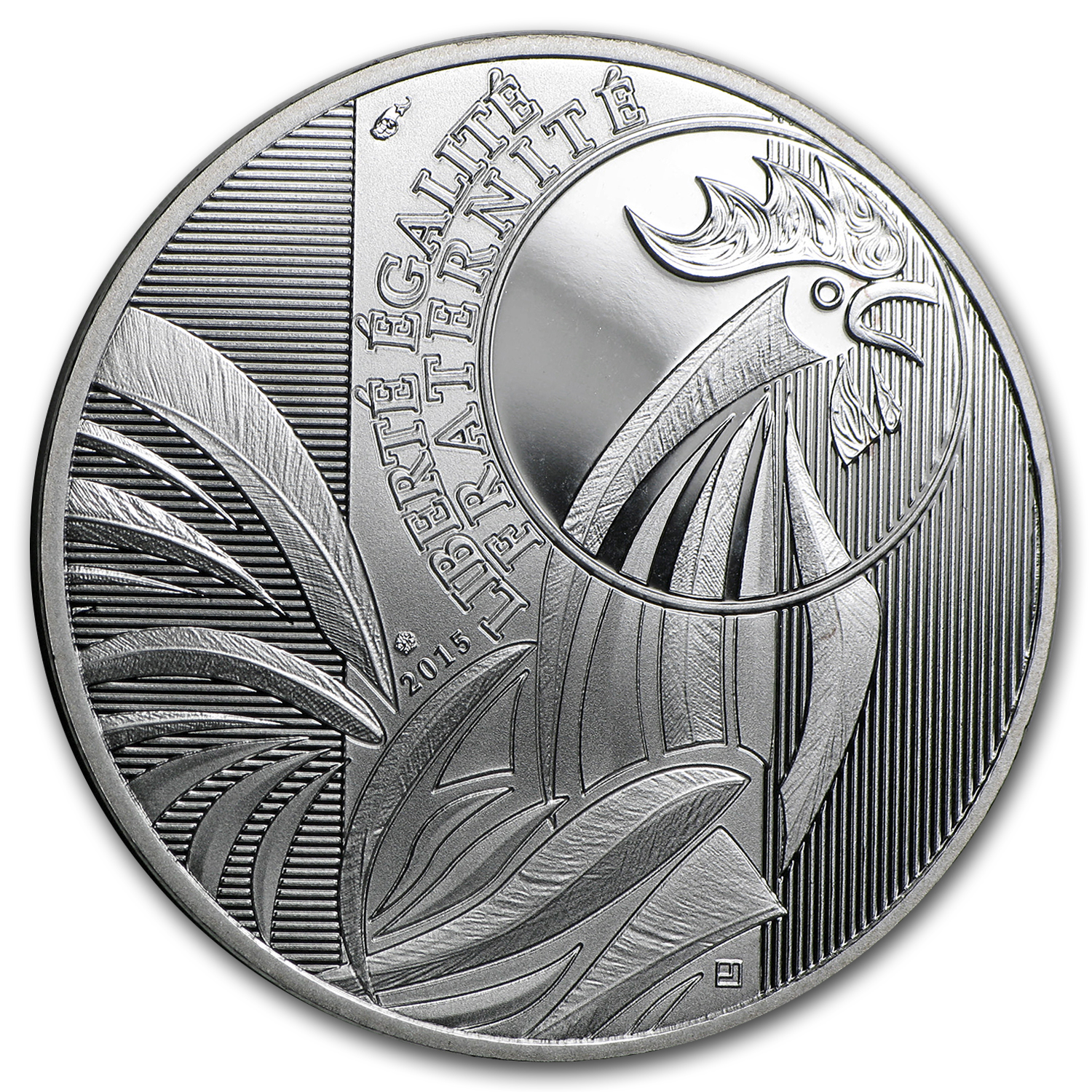 2015 France Proof Silver €10 The Rooster