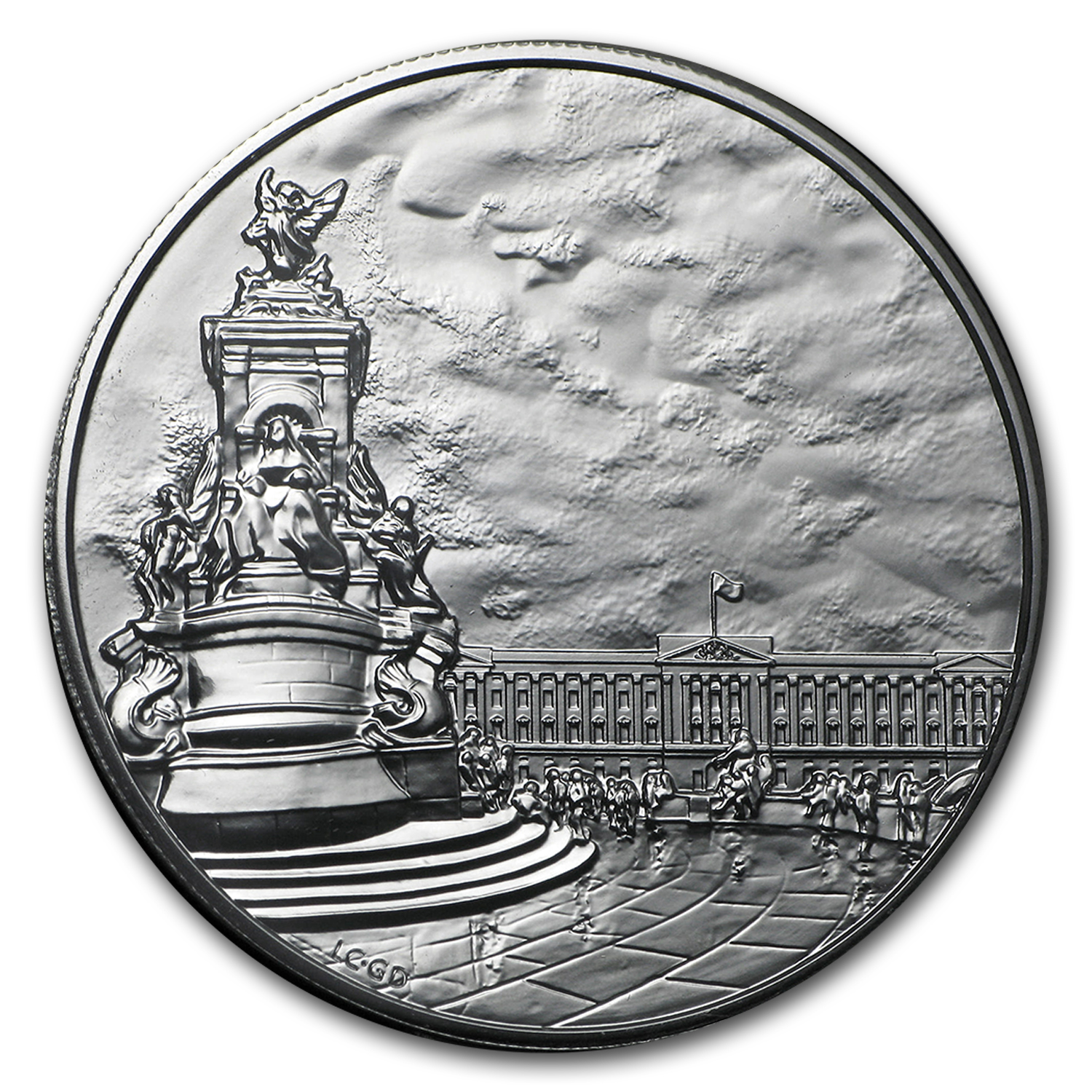 2015 Great Britain Silver £100 for £100 Buckingham Palace