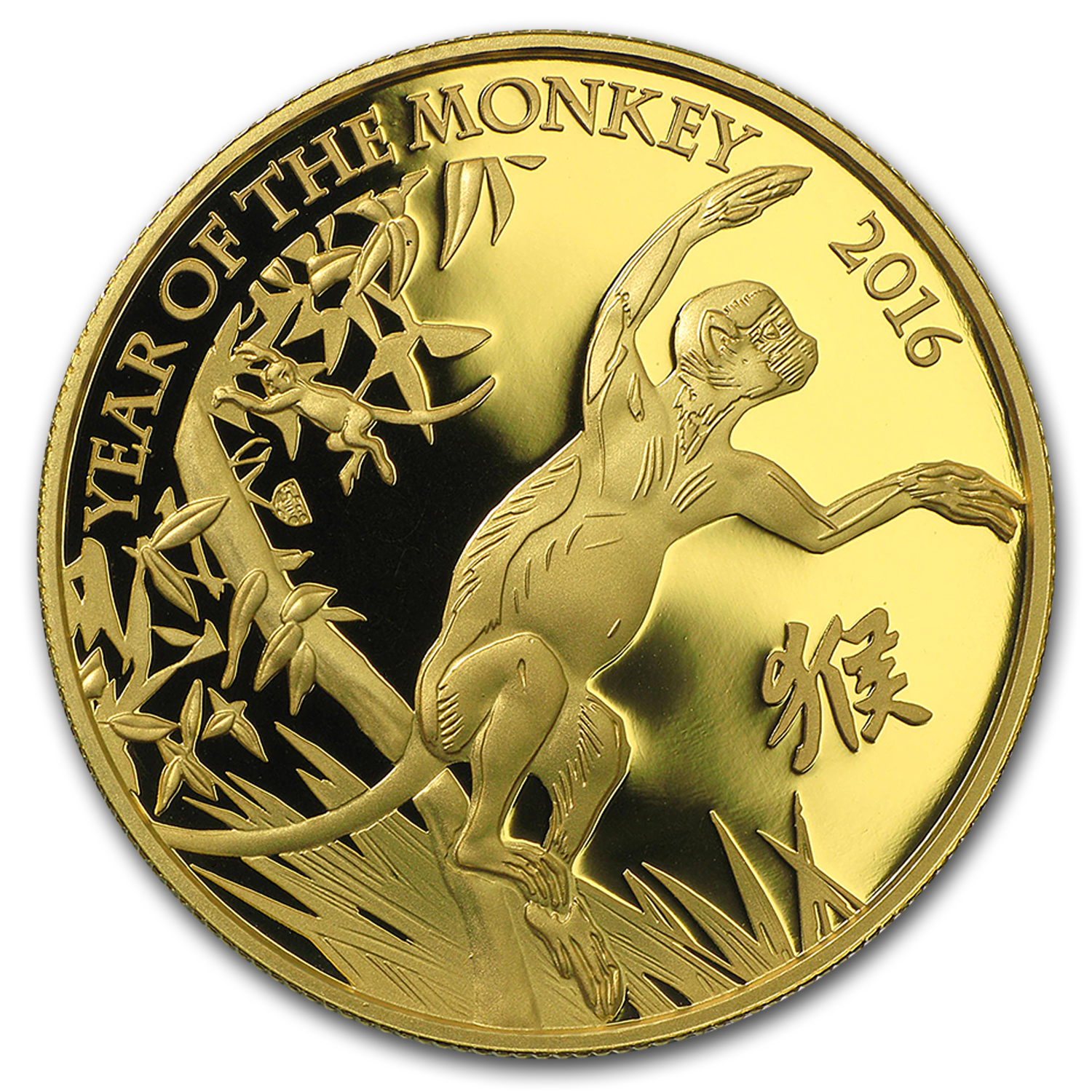 2016 GB 1 oz Gold Year of the Monkey Proof (First Release)