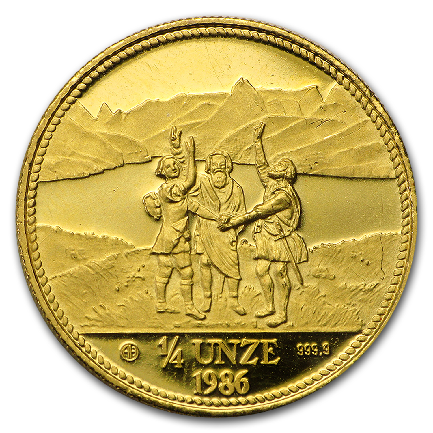1/4 oz Gold Round - Secondary Market