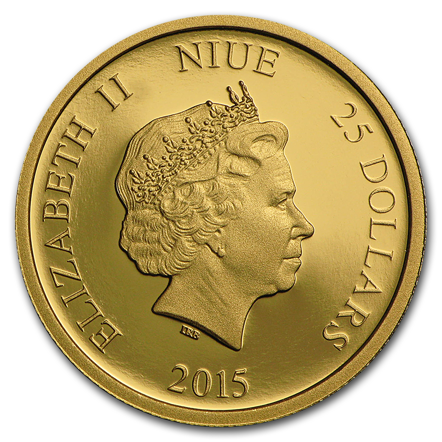 2015 Niue 1/4 oz Proof Gold $25 Disney Princess Snow White