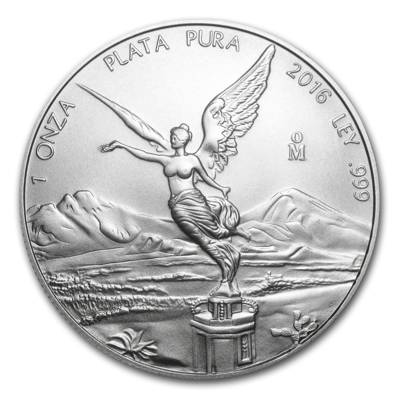 2016 Mexico Silver Libertad Coin 1 Oz Silver Mexican