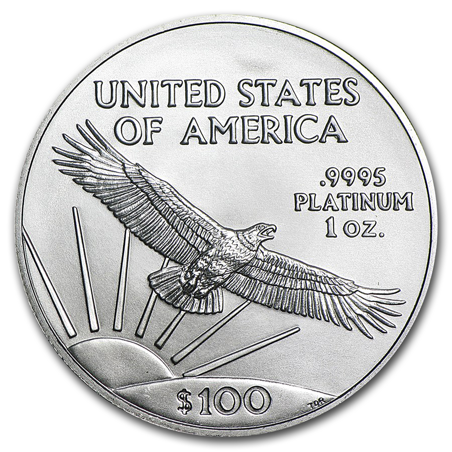 2016 1 oz Platinum American Eagle (20-Coin MintDirect® Tube)