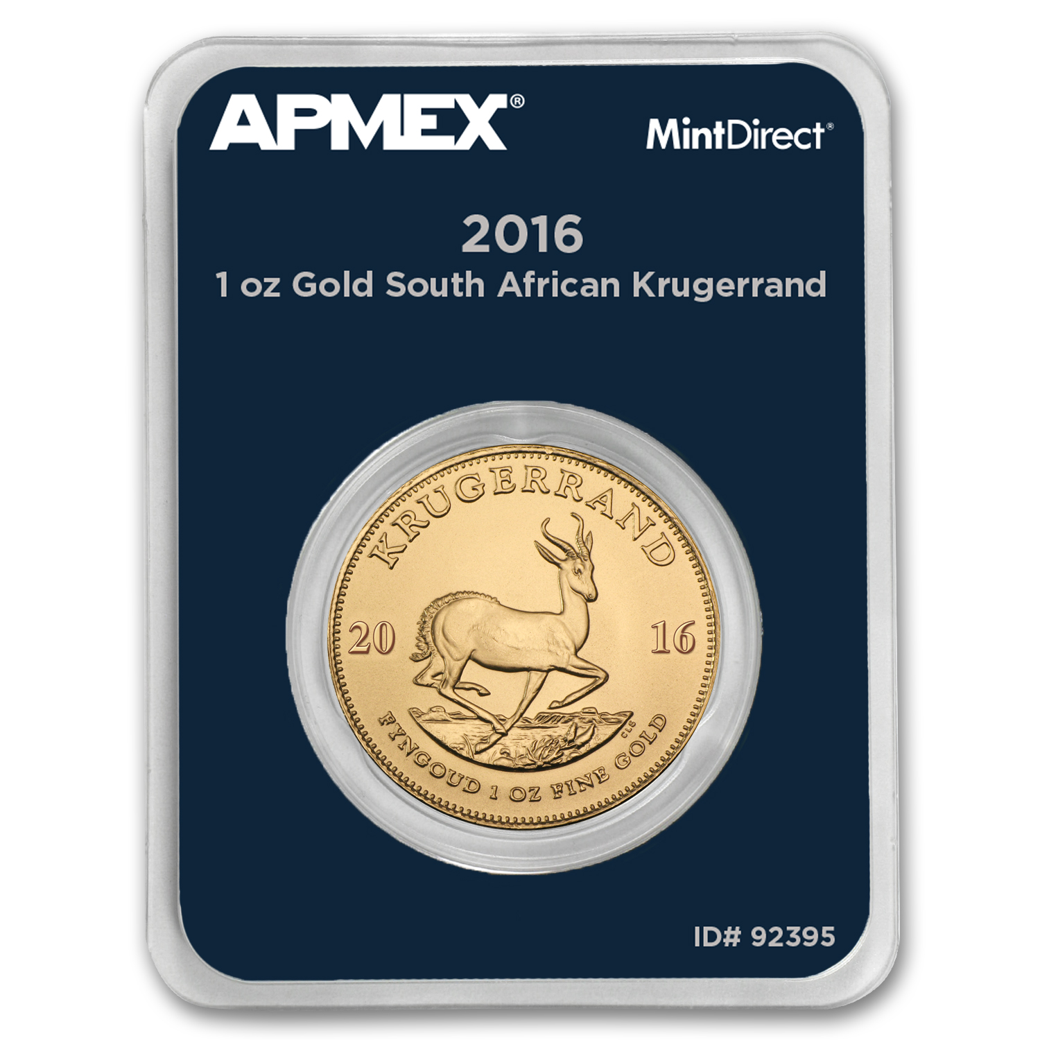 2016 South Africa 1 oz Gold Krugerrand (MintDirect® Single)