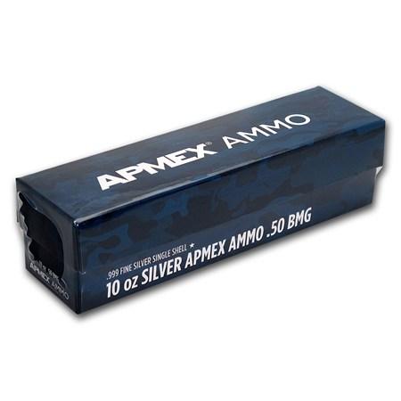 10 Oz Silver Bullet 50 Bmg 1 Oz Silver Bars Apmex