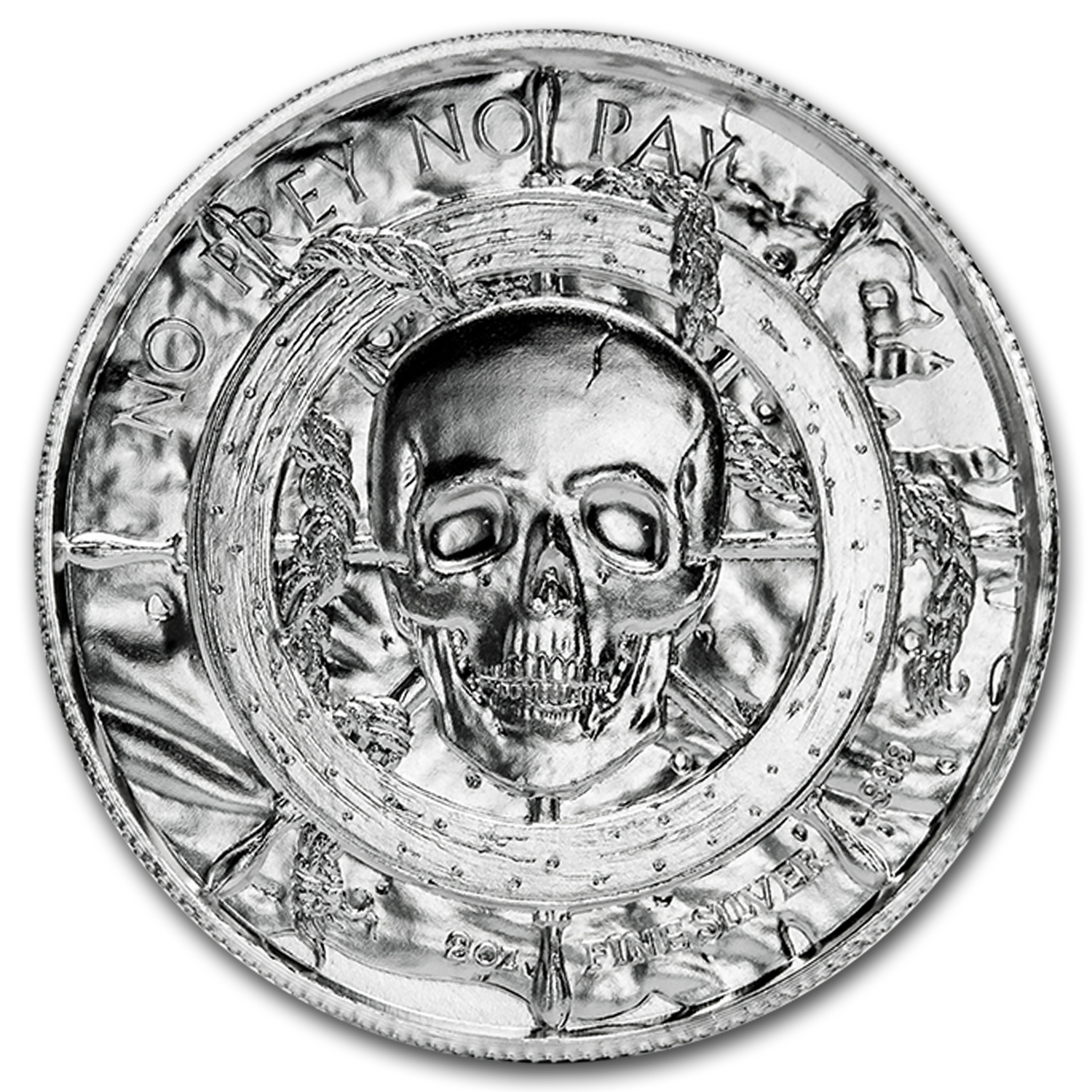 2 oz Silver Round - The Siren