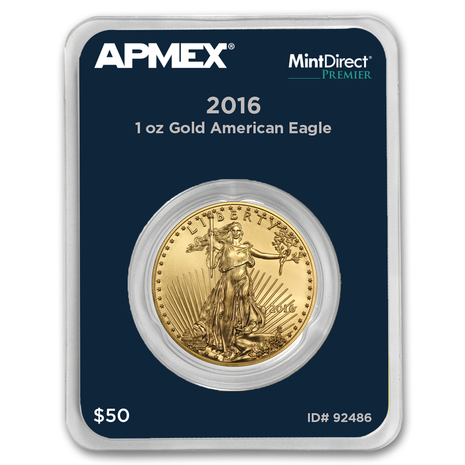 2016 1 oz Gold Eagle (MintDirect® Premier Single)