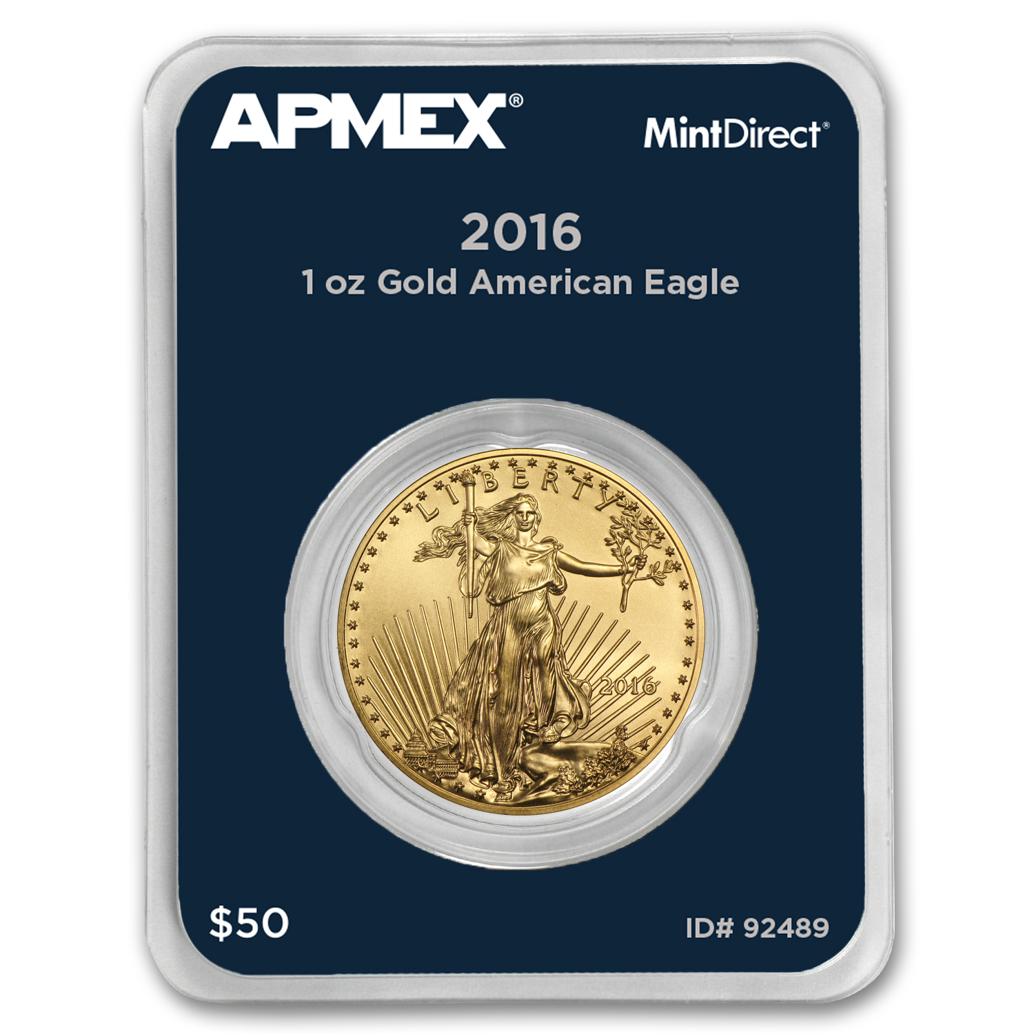2016 1 oz Gold American Eagle (MintDirect® Single)