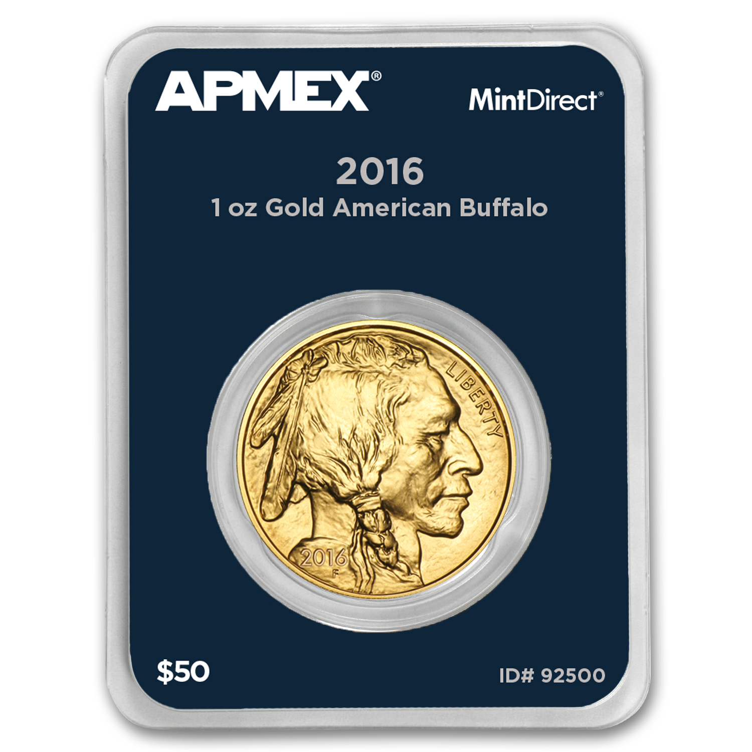 2016 1 oz Gold Buffalo (MintDirect® Single)