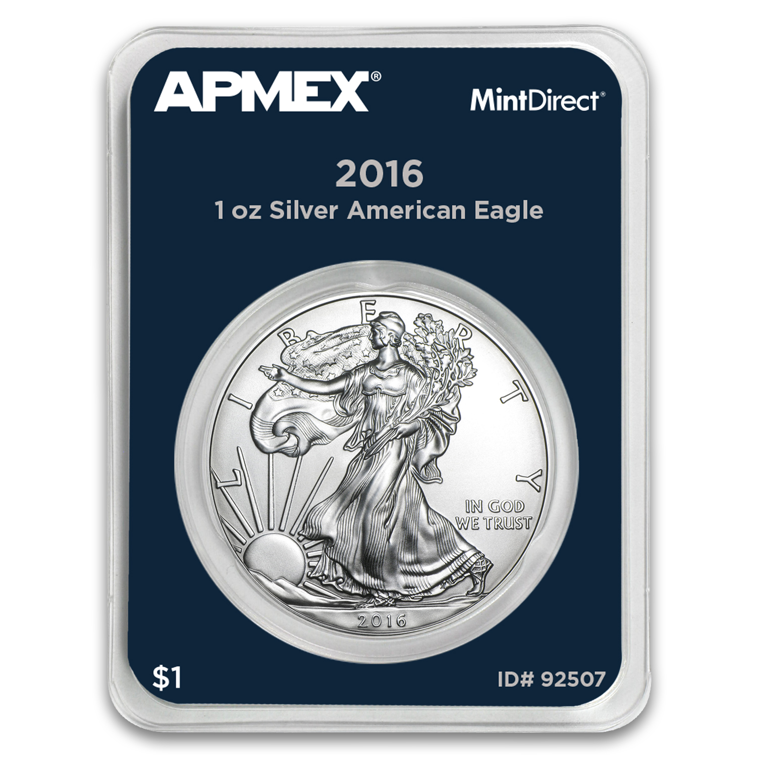2016 1 oz Silver American Eagle (MintDirect® Single)